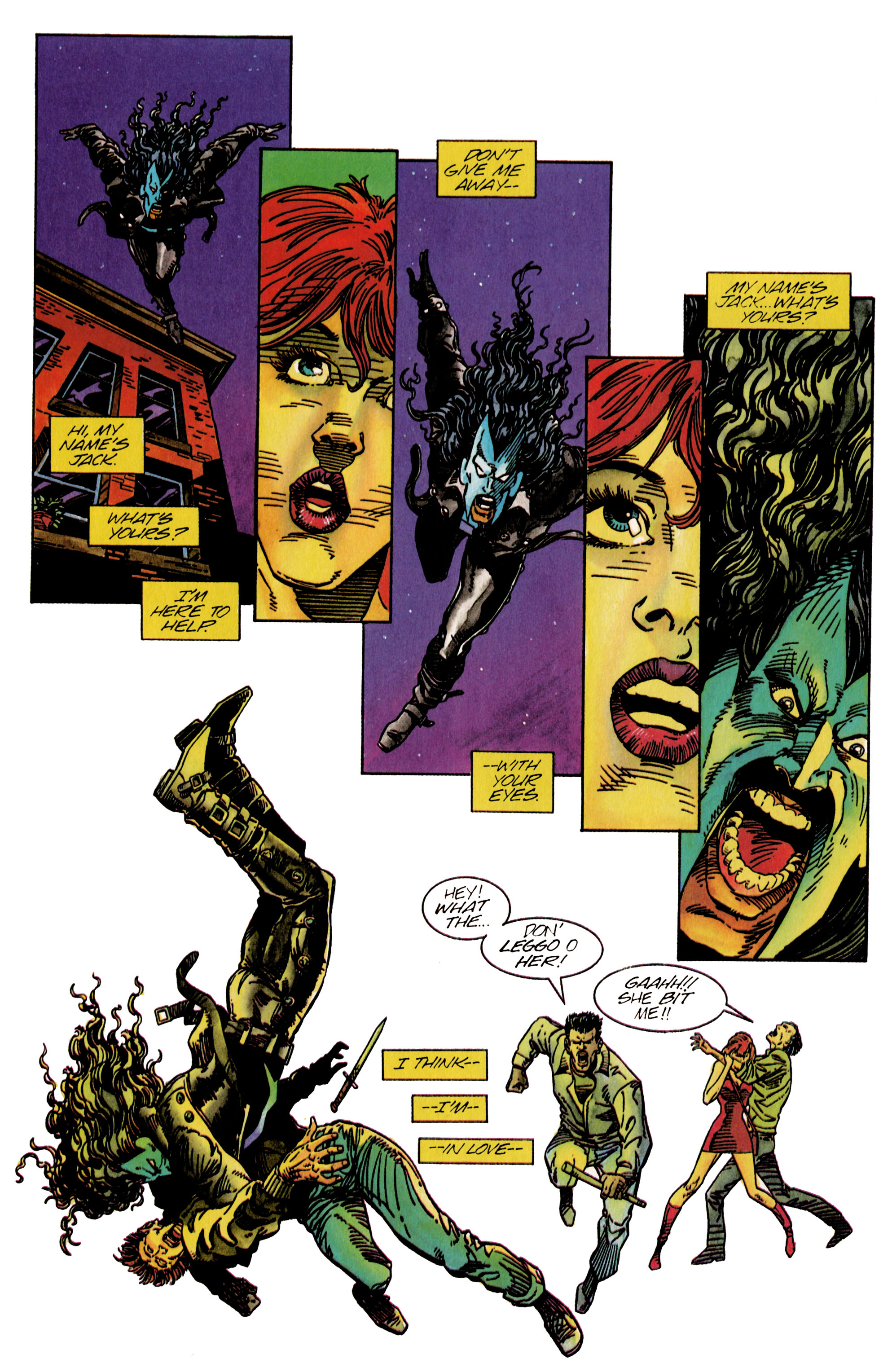 Read online Shadowman (1992) comic -  Issue #26 - 9