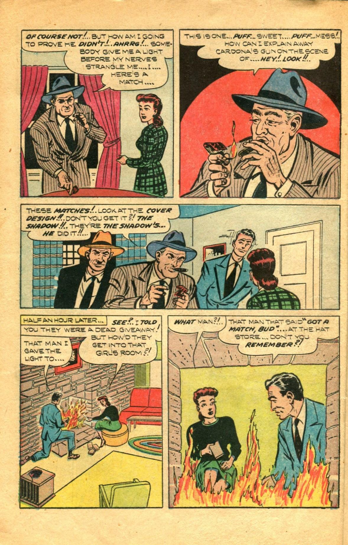 Read online Shadow Comics comic -  Issue #91 - 10