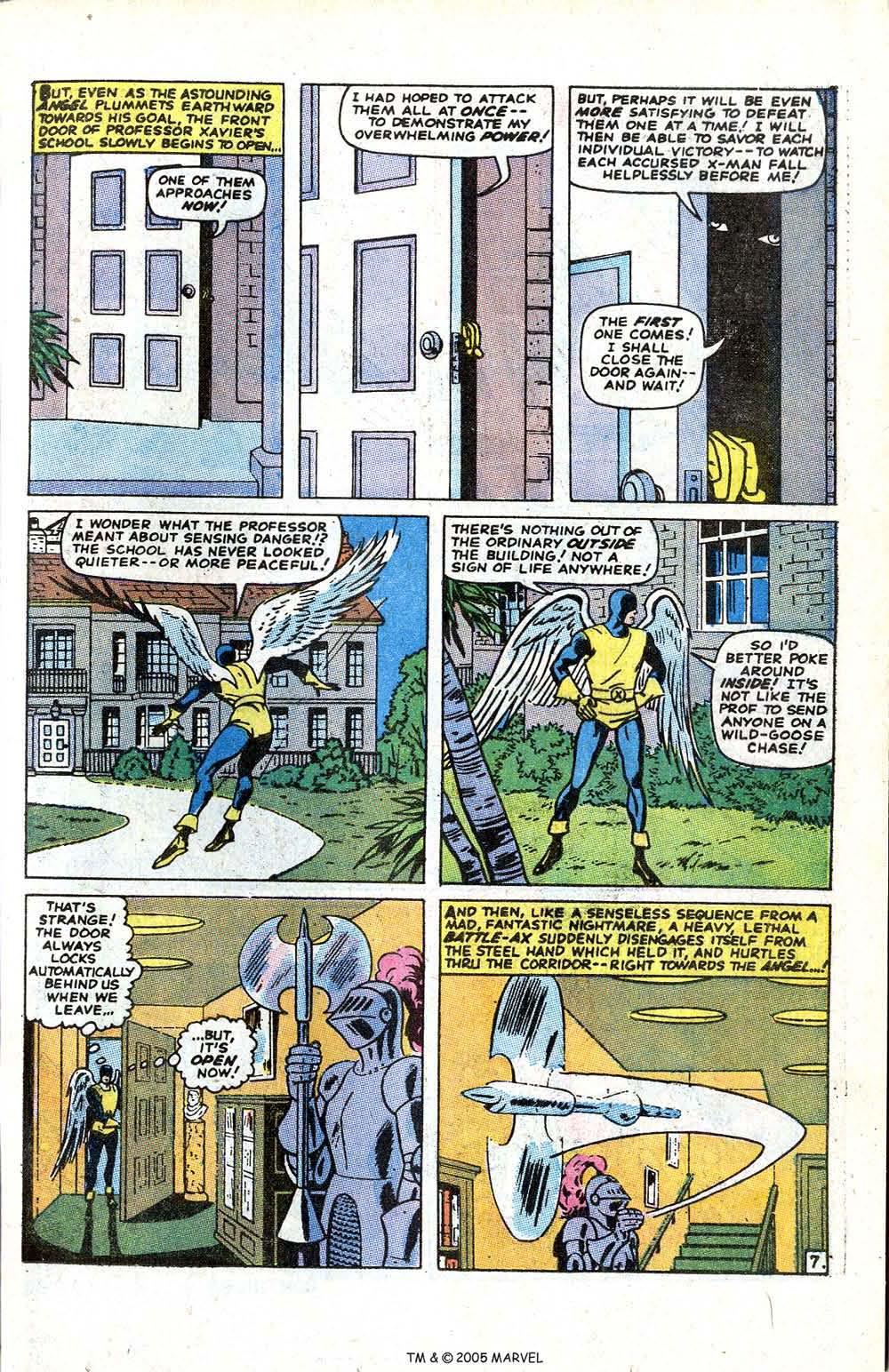 Uncanny X-Men (1963) issue 70 - Page 9