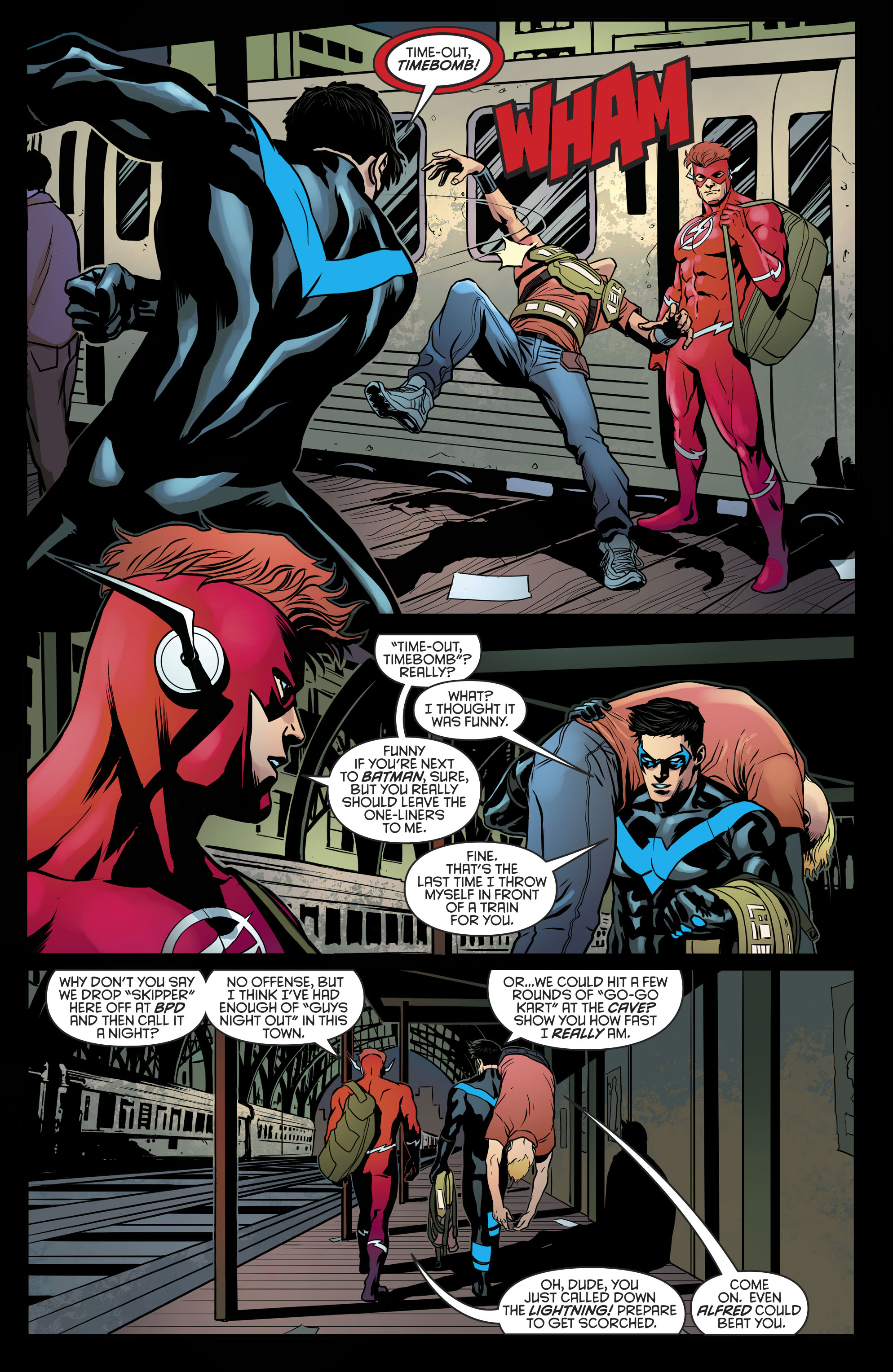 Read online Nightwing (2016) comic -  Issue #21 - 20