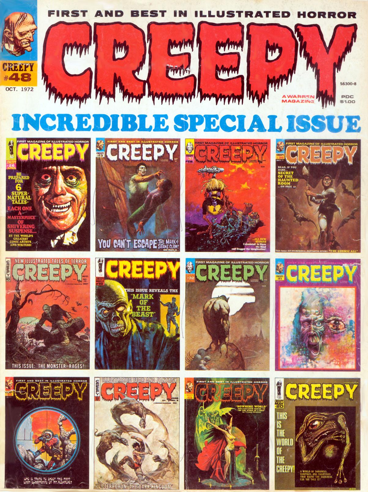 Creepy (1964) 48 Page 1