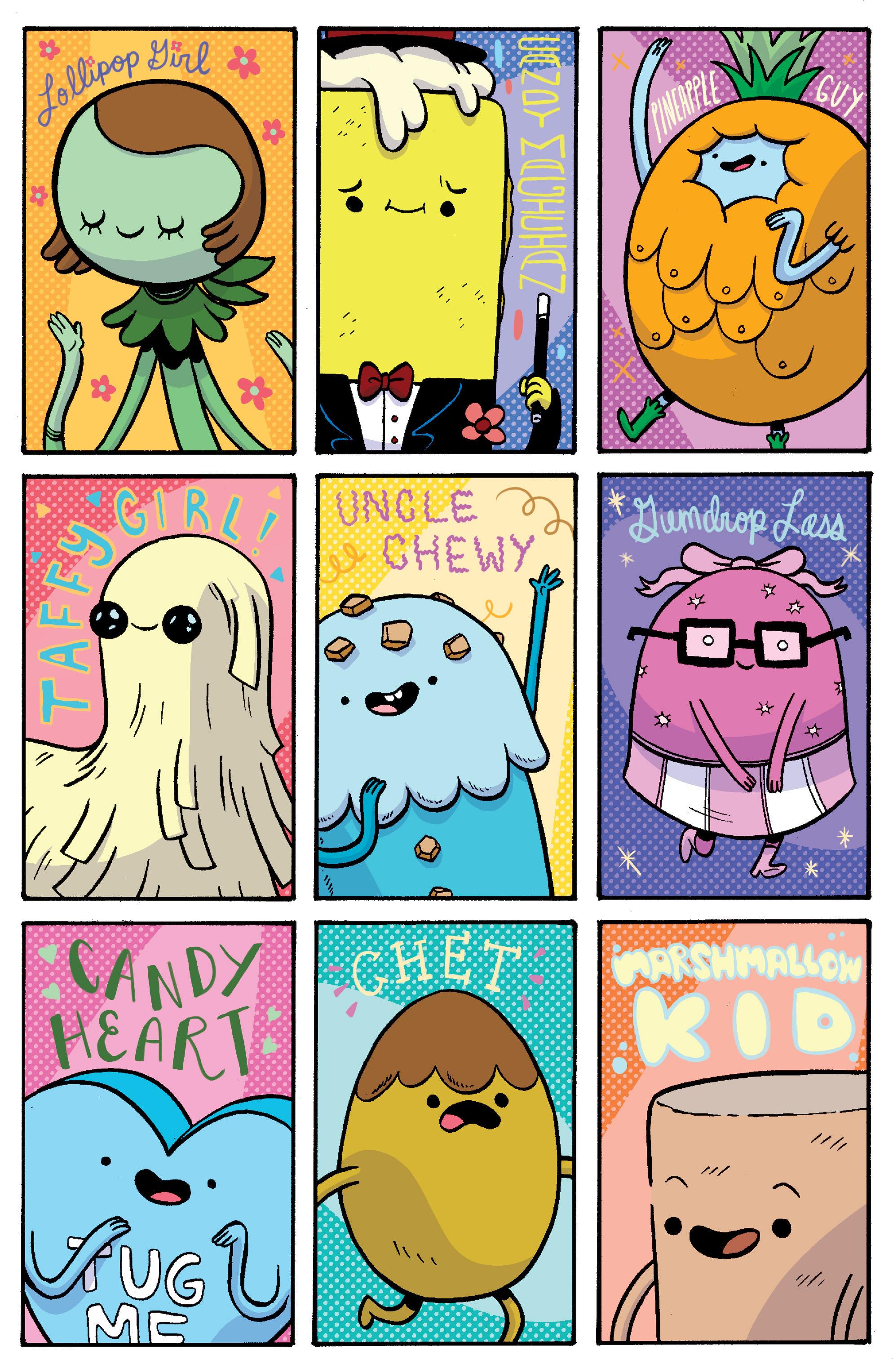 Read online Adventure Time: Banana Guard Academ comic -  Issue #1 - 19