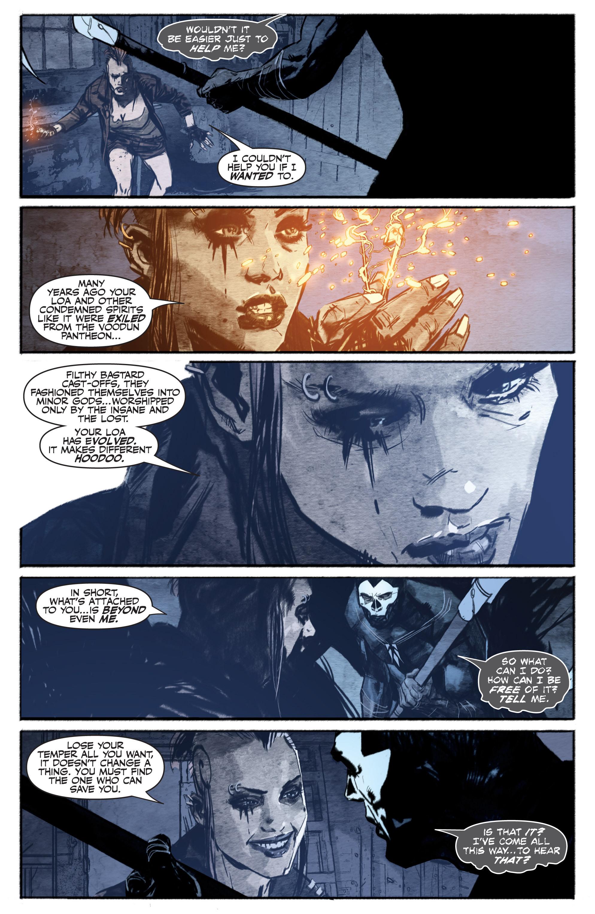 Read online Shadowman (2012) comic -  Issue #13 - 22