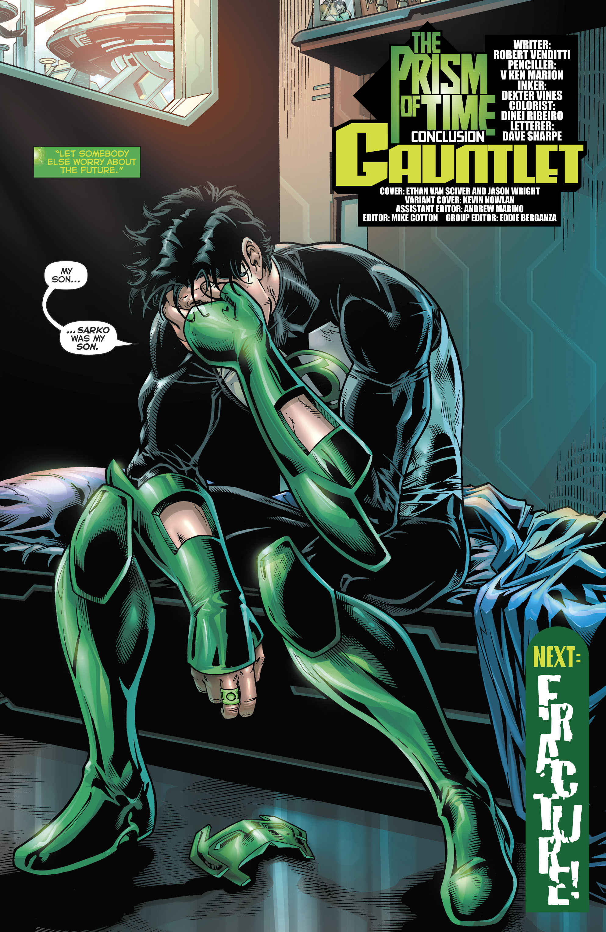Read online Hal Jordan And The Green Lantern Corps comic -  Issue #21 - 23