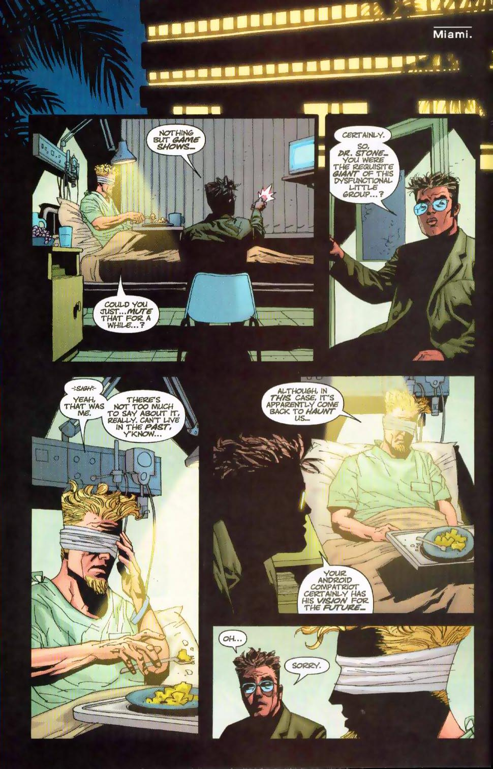 Wildcats (1999) Issue #18 #19 - English 7