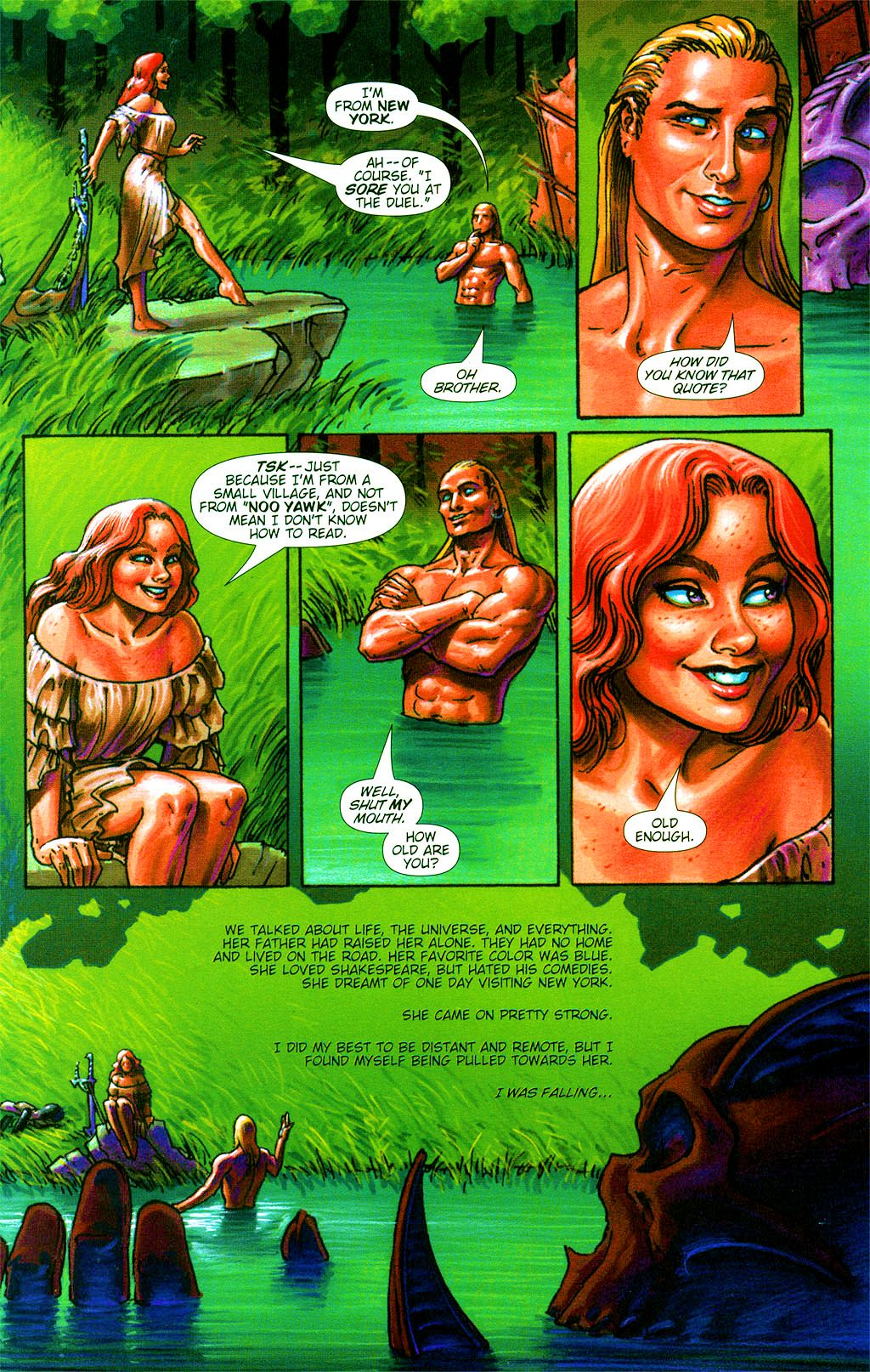 Read online Dawn: Three Tiers comic -  Issue #2 - 12