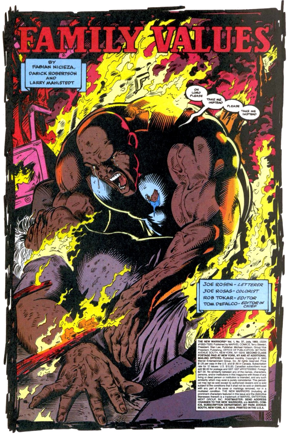 The New Warriors Issue #37 #41 - English 4