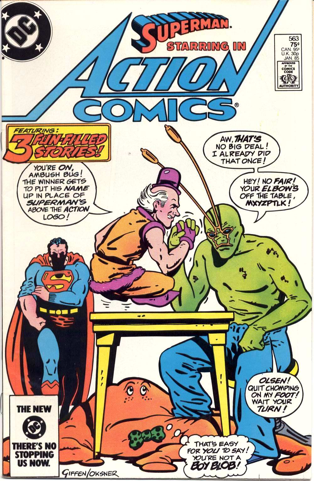 Read online Action Comics (1938) comic -  Issue #563 - 1