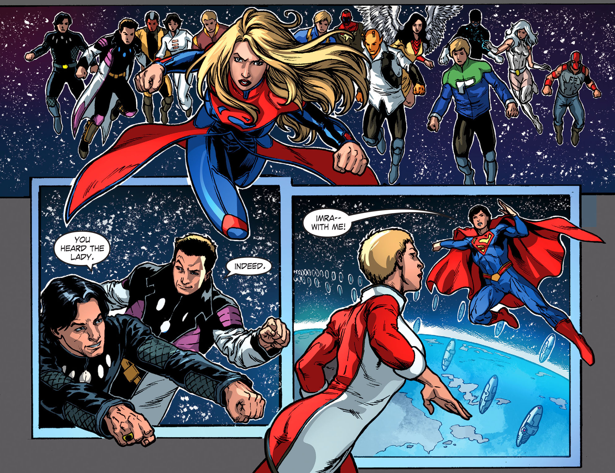 Read online Smallville: Season 11 comic -  Issue #52 - 6
