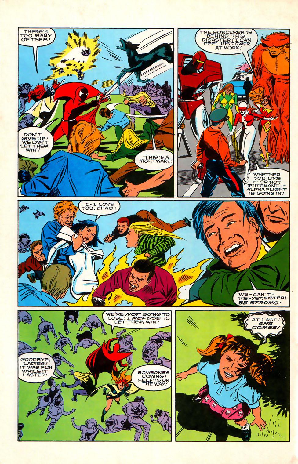 Read online Alpha Flight (1983) comic -  Issue #76 - 19