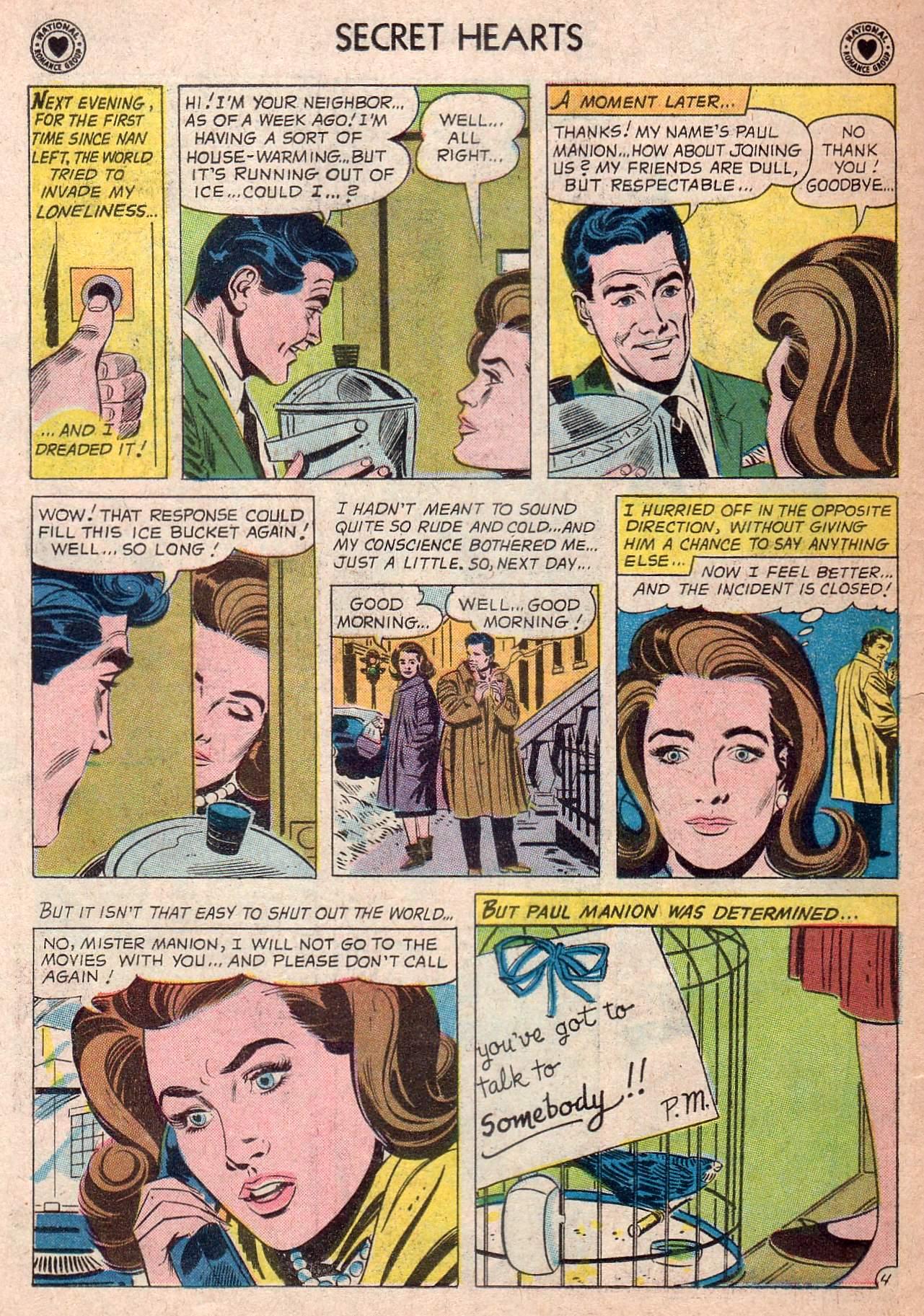Read online Secret Hearts comic -  Issue #73 - 6