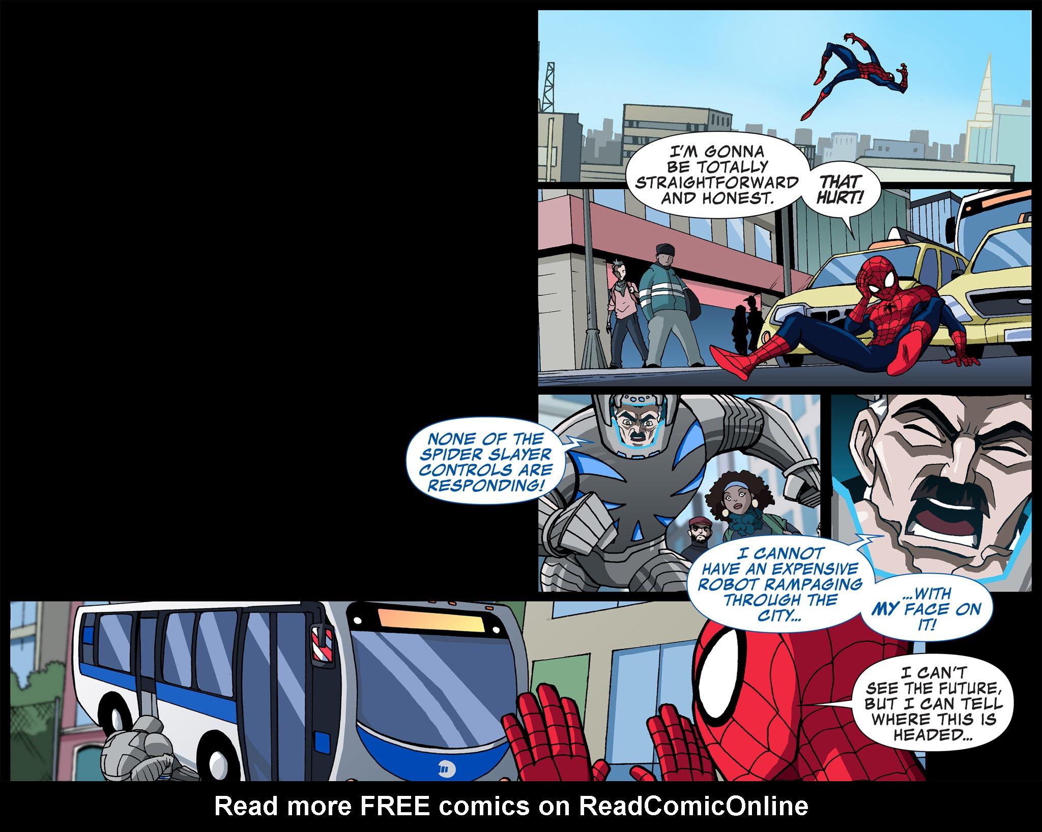 Read online Ultimate Spider-Man (Infinite Comics) (2015) comic -  Issue #4 - 21
