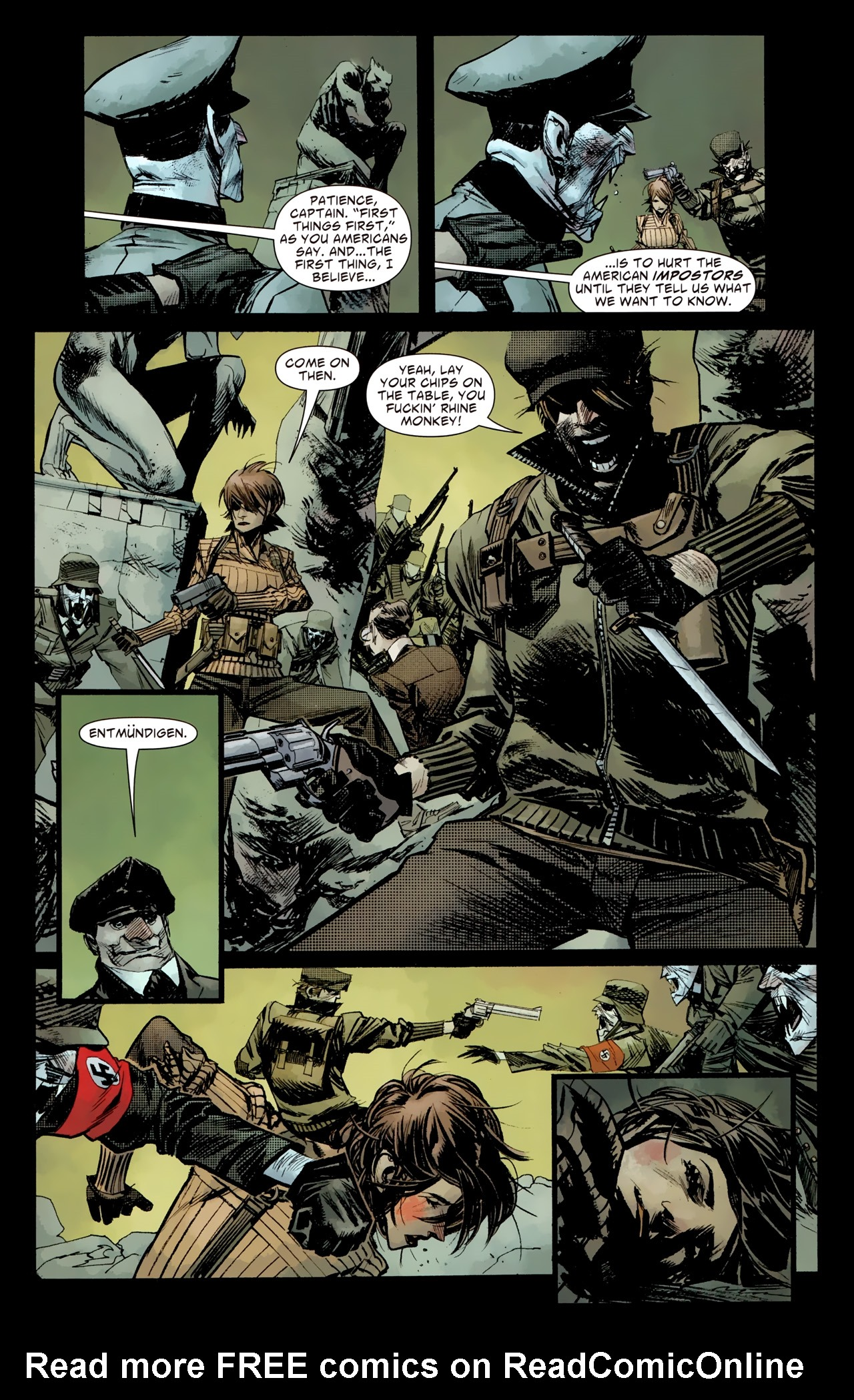 Read online American Vampire: Survival of the Fittest comic -  Issue #4 - 11