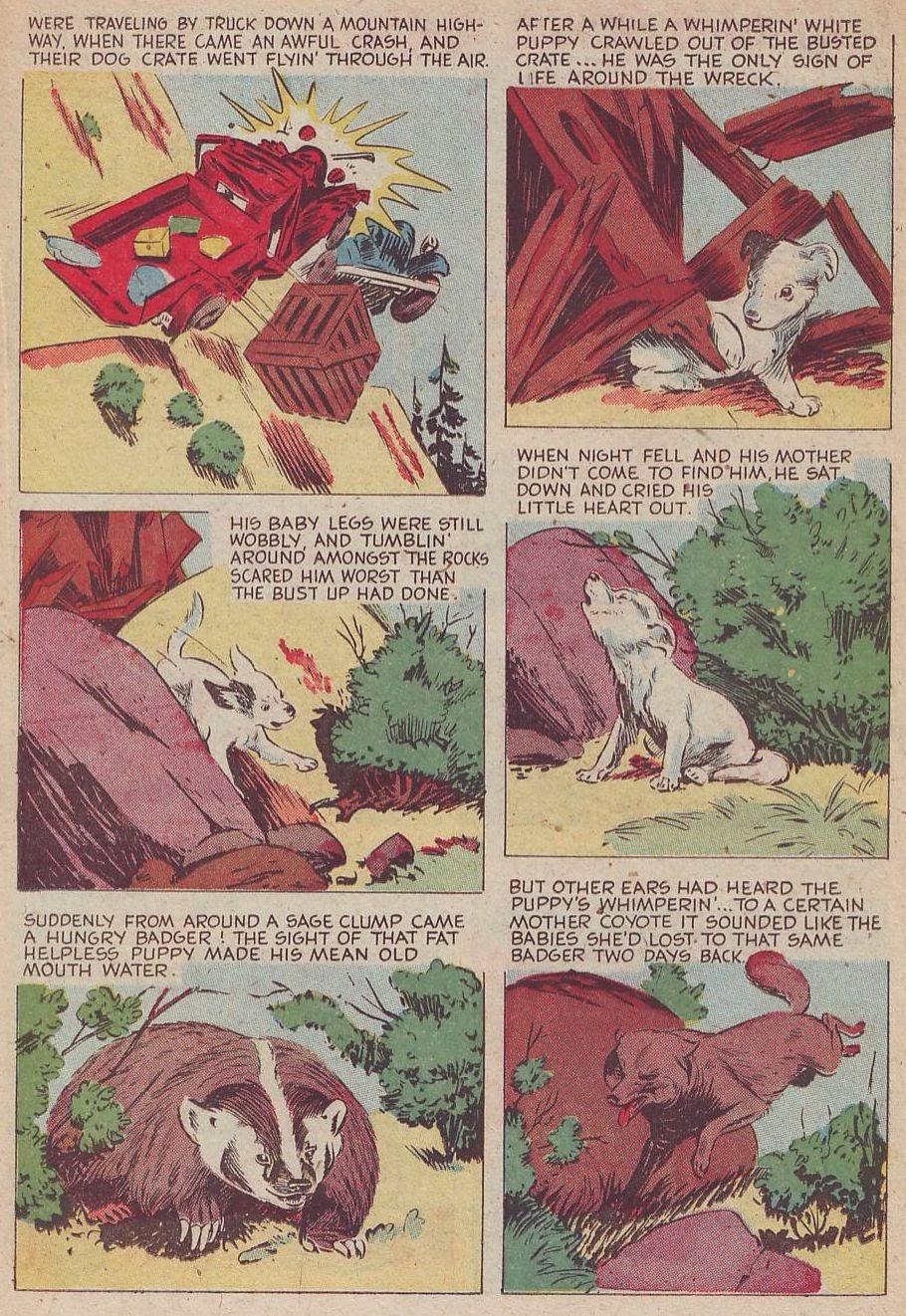 Read online Animal Comics comic -  Issue #30 - 27