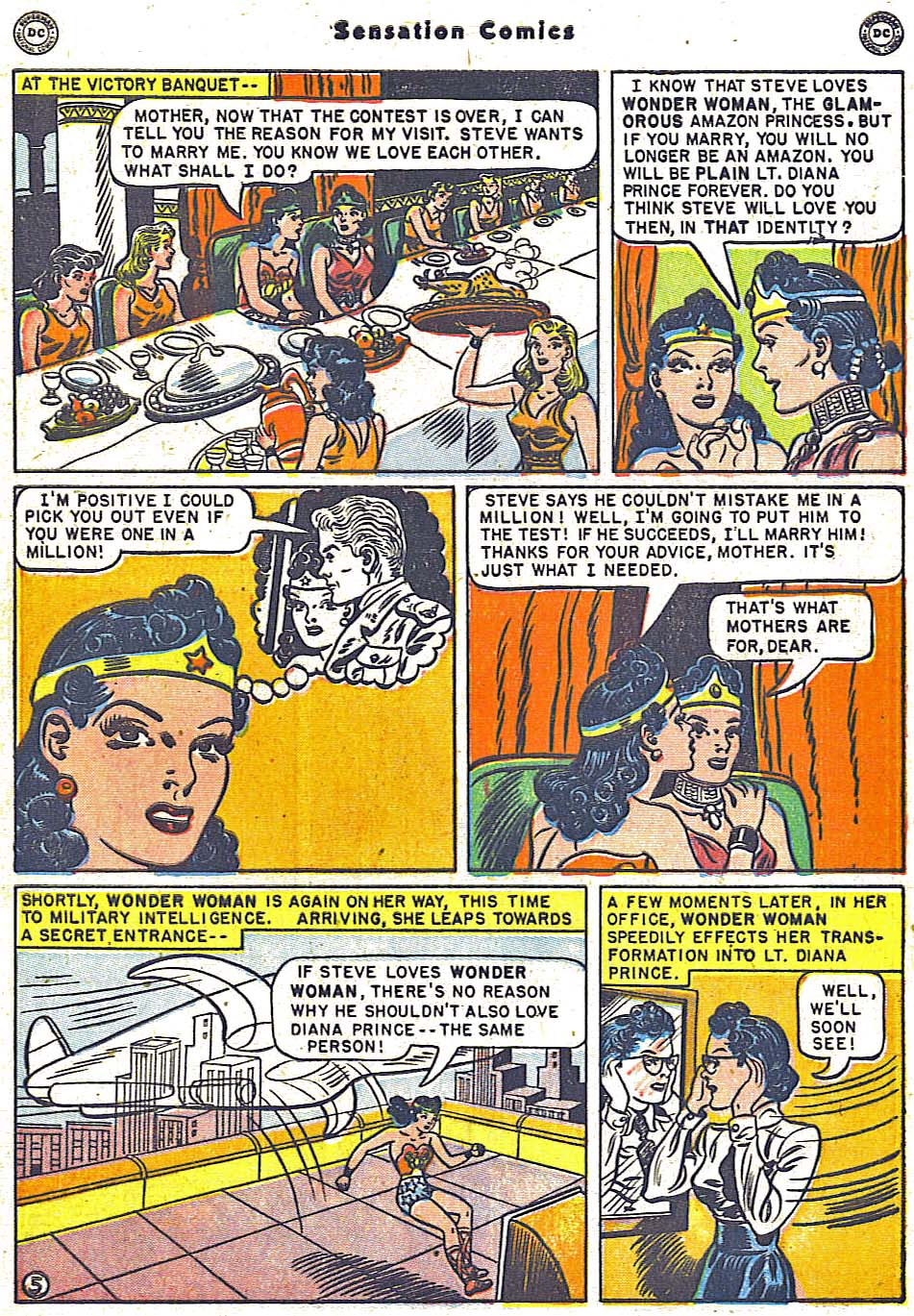 Read online Sensation (Mystery) Comics comic -  Issue #96 - 7