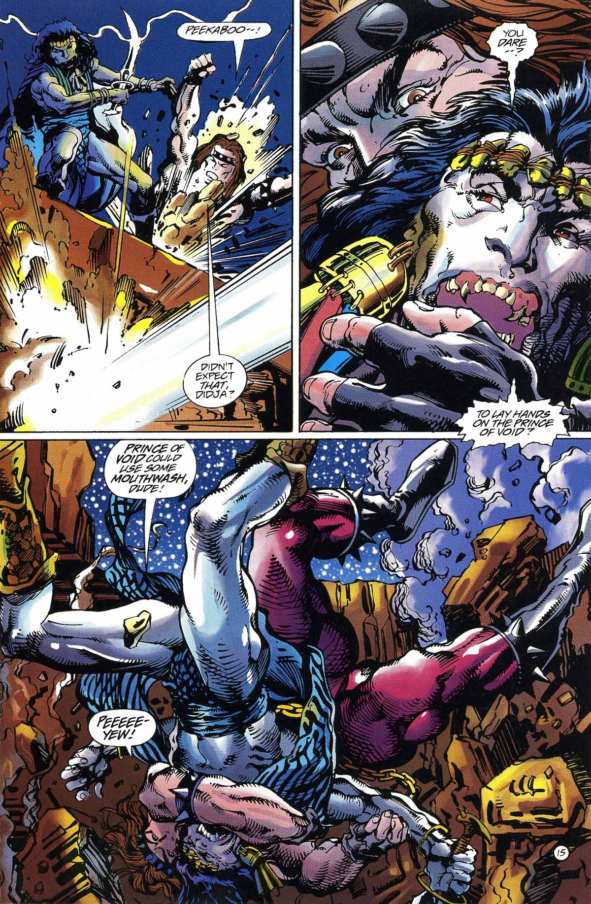 Read online Rune (1994) comic -  Issue #6 - 17