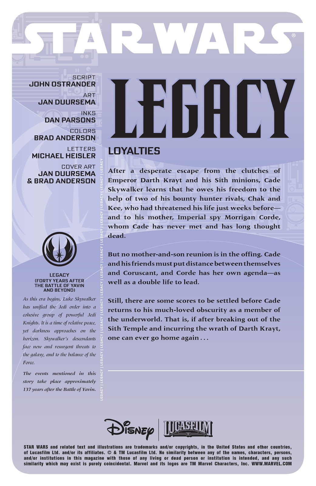 Read online Star Wars Legends: Legacy - Epic Collection comic -  Issue # TPB 2 (Part 2) - 2