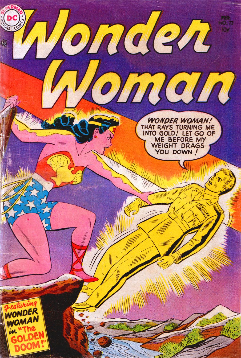 Read online Wonder Woman (1942) comic -  Issue #72 - 1