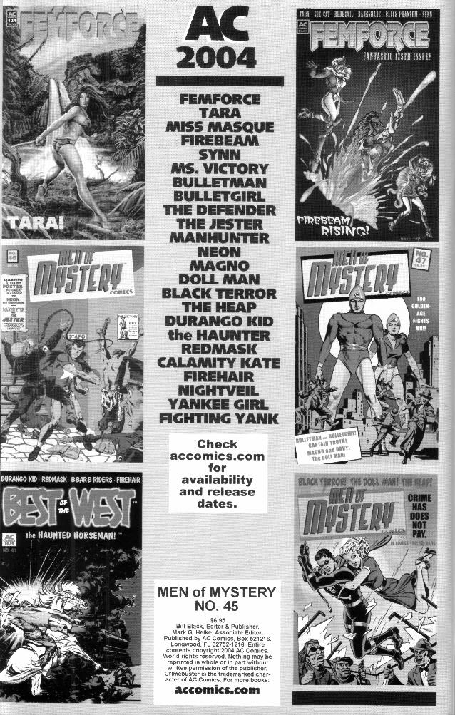 Read online Men of Mystery Comics comic -  Issue #45 - 2