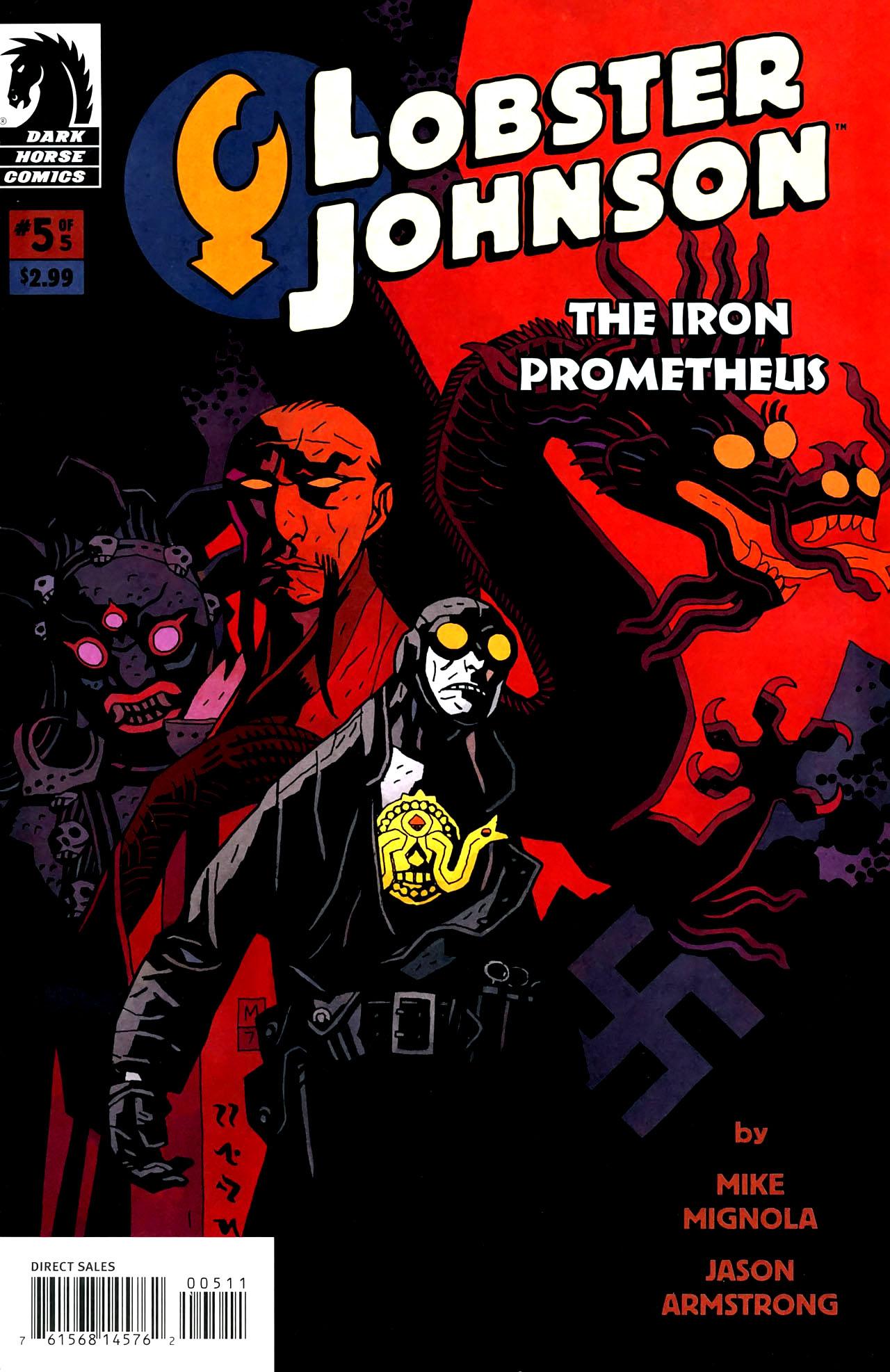 Read online Lobster Johnson: The Iron Prometheus comic -  Issue #5 - 1