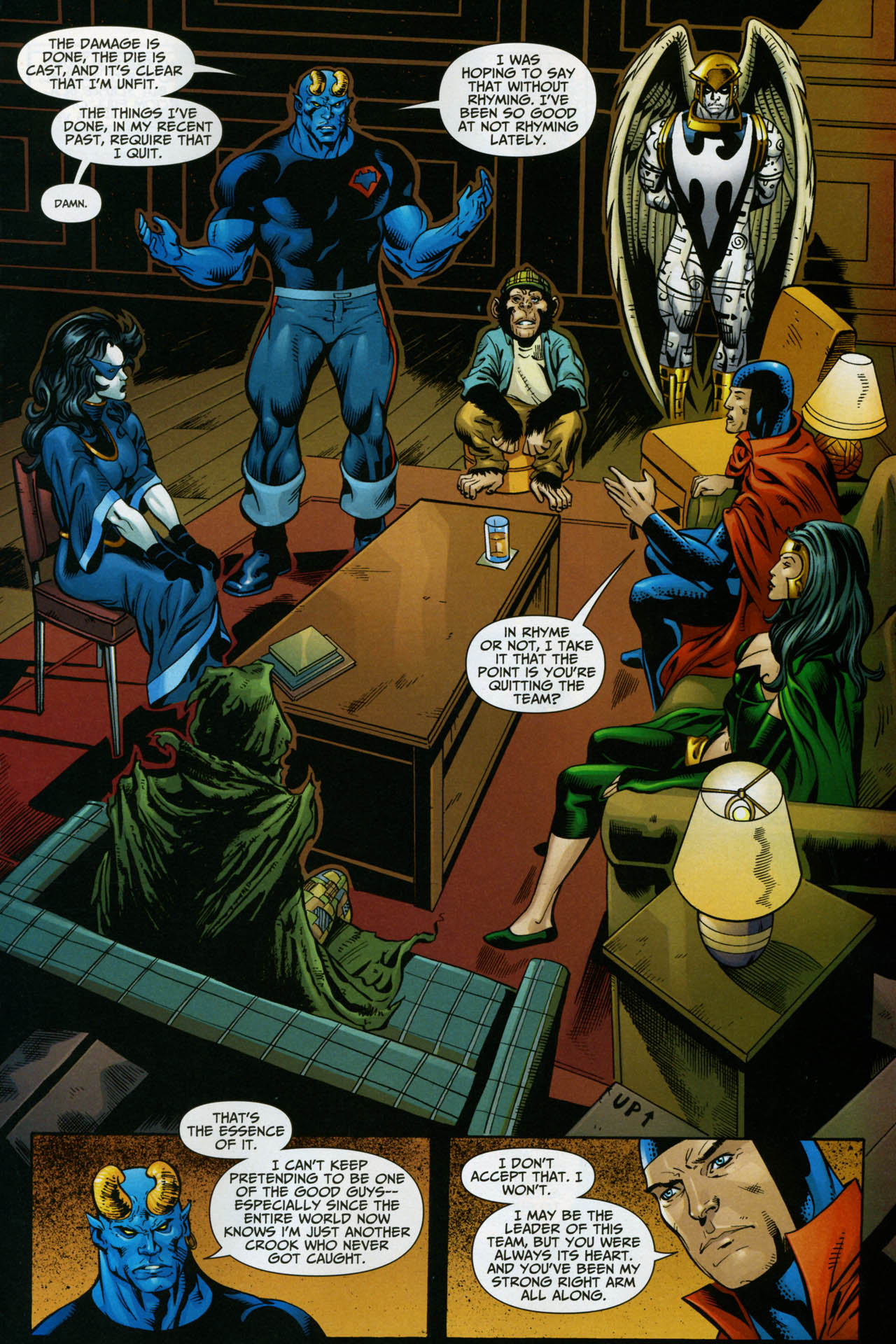 Read online Shadowpact comic -  Issue #14 - 20