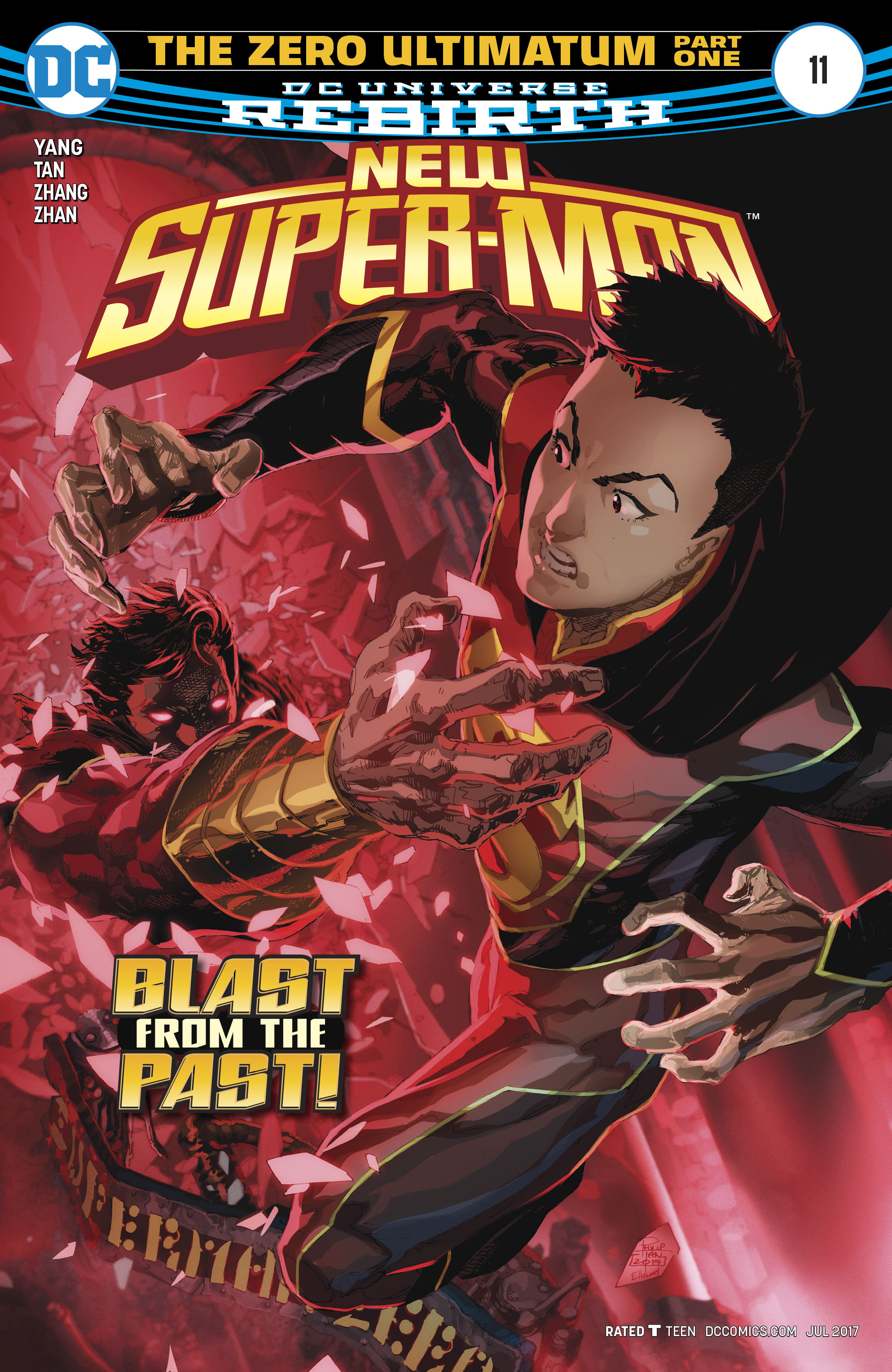 Read online New Super-Man comic -  Issue #11 - 1