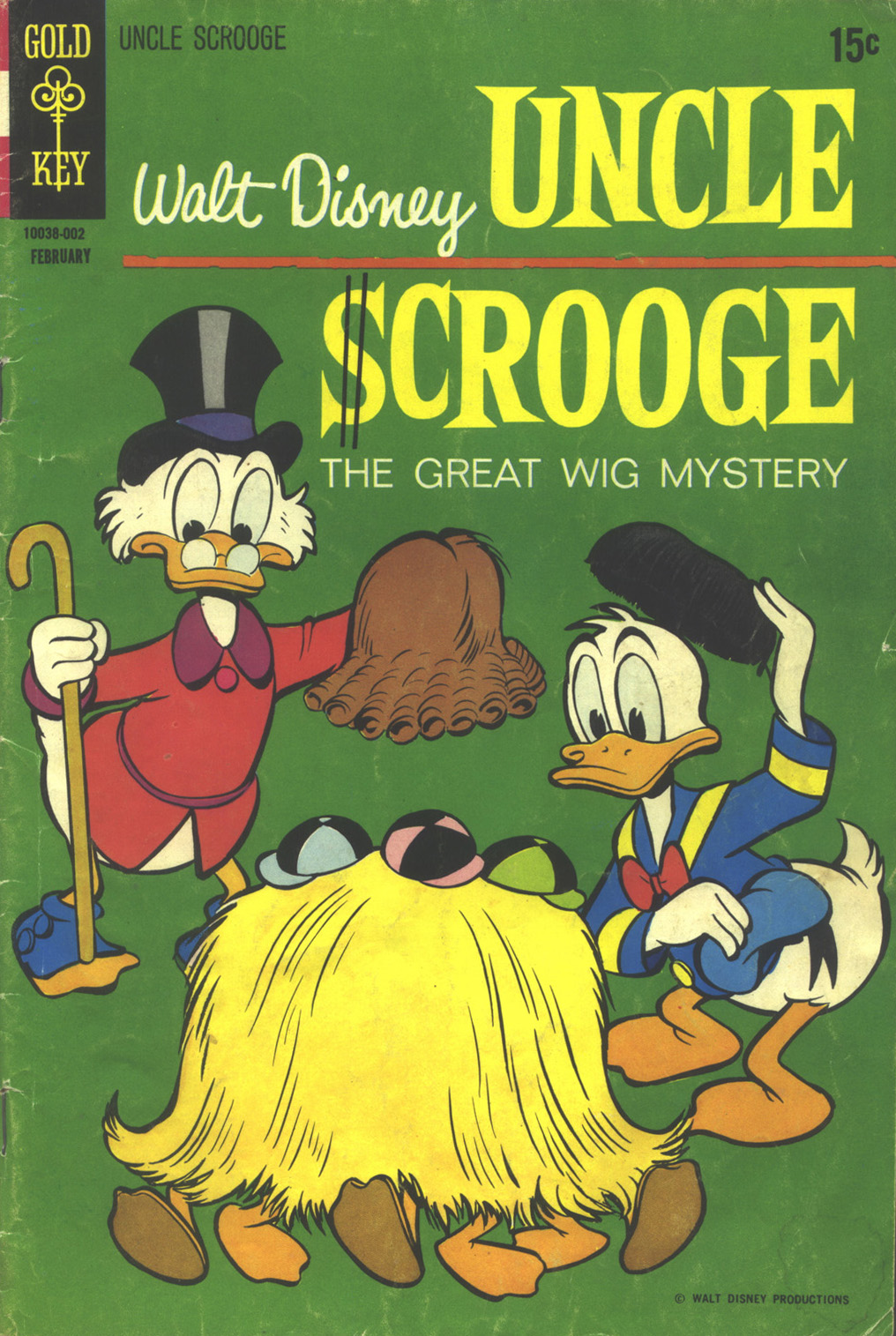 Read online Uncle Scrooge (1953) comic -  Issue #85 - 1