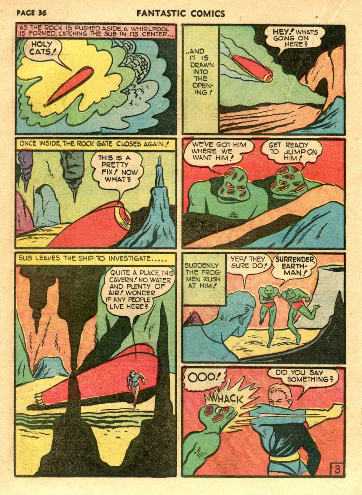 Read online Fantastic Comics comic -  Issue #21 - 34