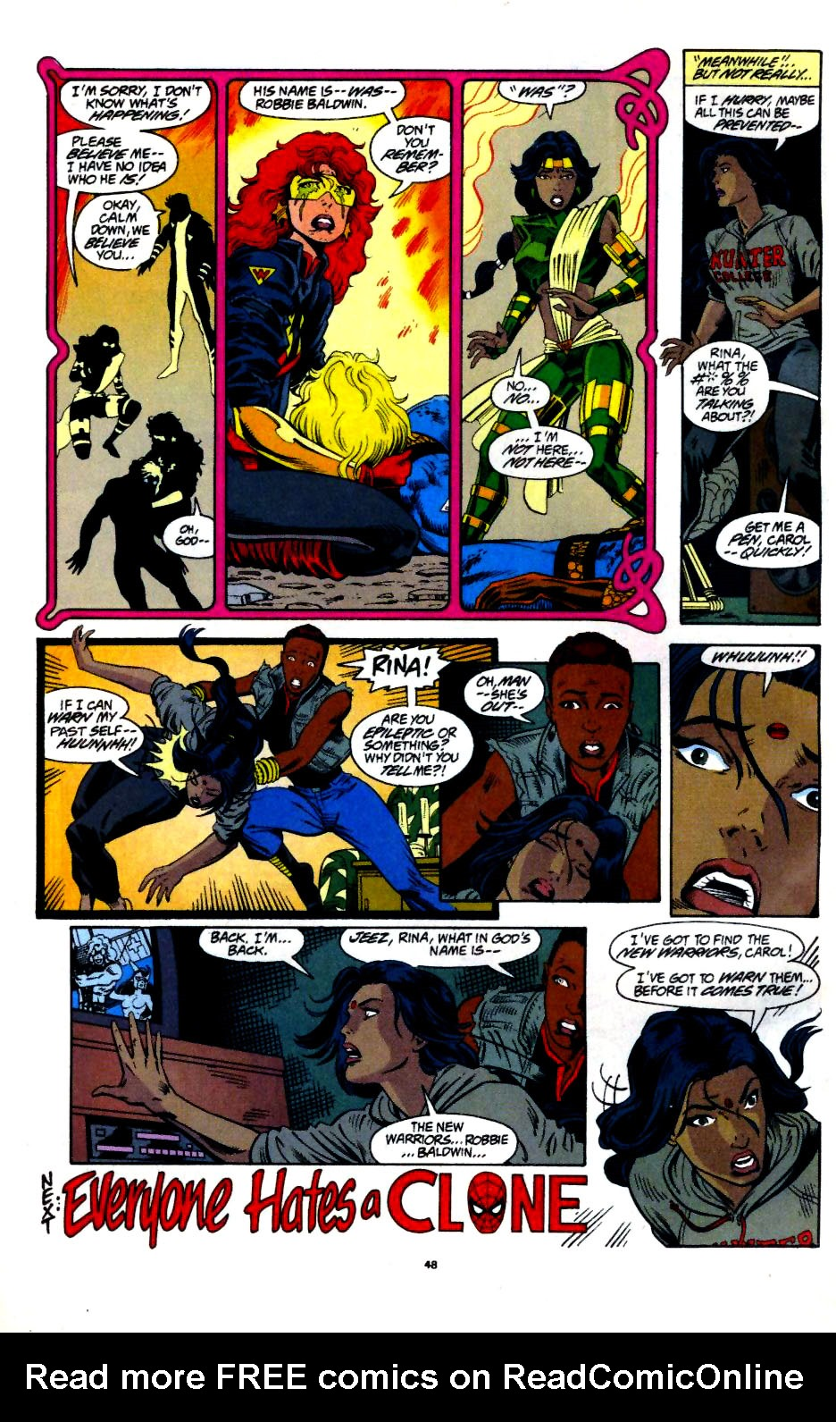 The New Warriors Issue #60 #64 - English 39