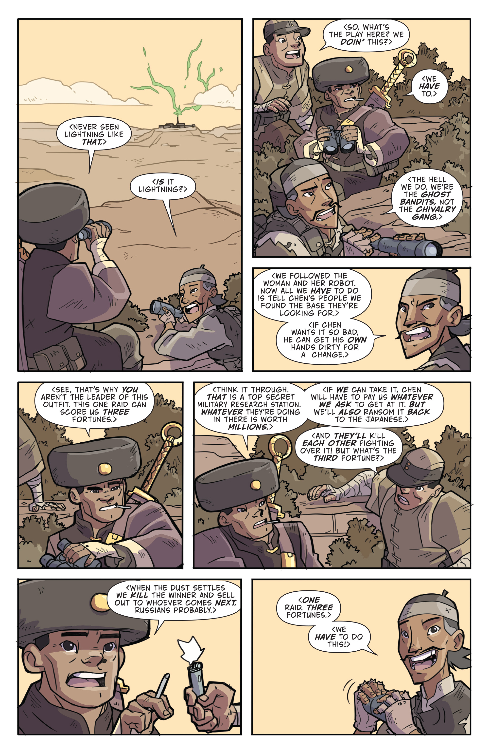 Read online Atomic Robo and the Temple of Od comic -  Issue #2 - 8