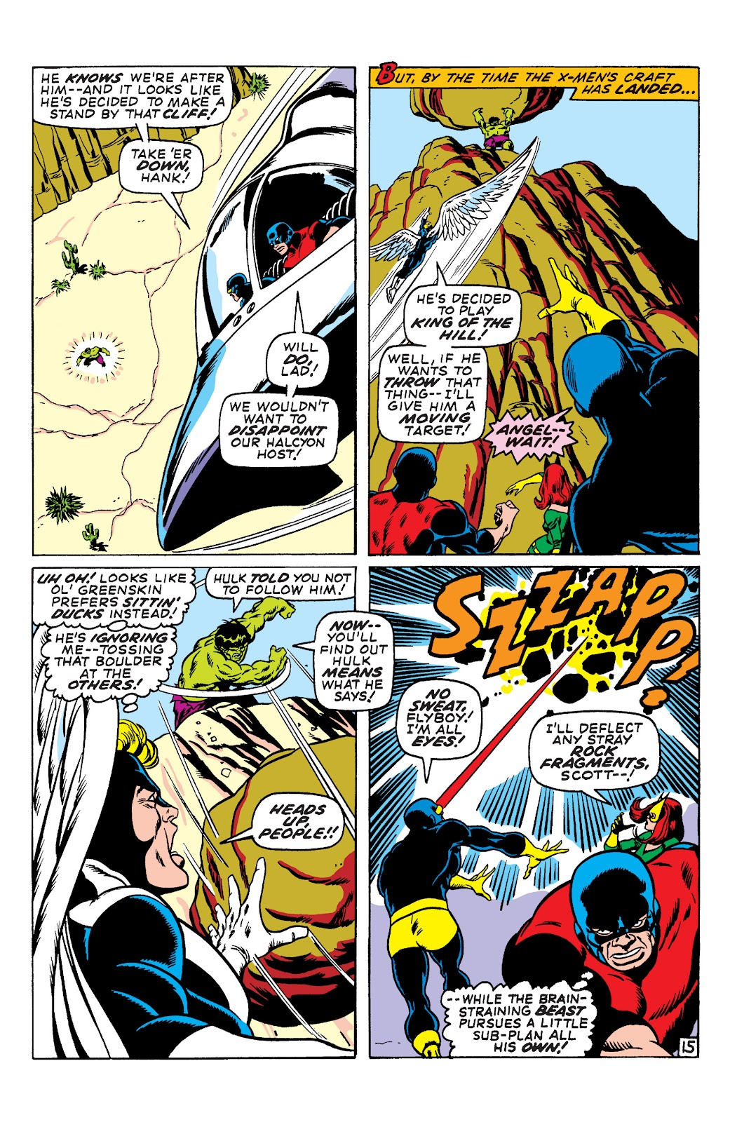 Uncanny X-Men (1963) issue 66 - Page 16