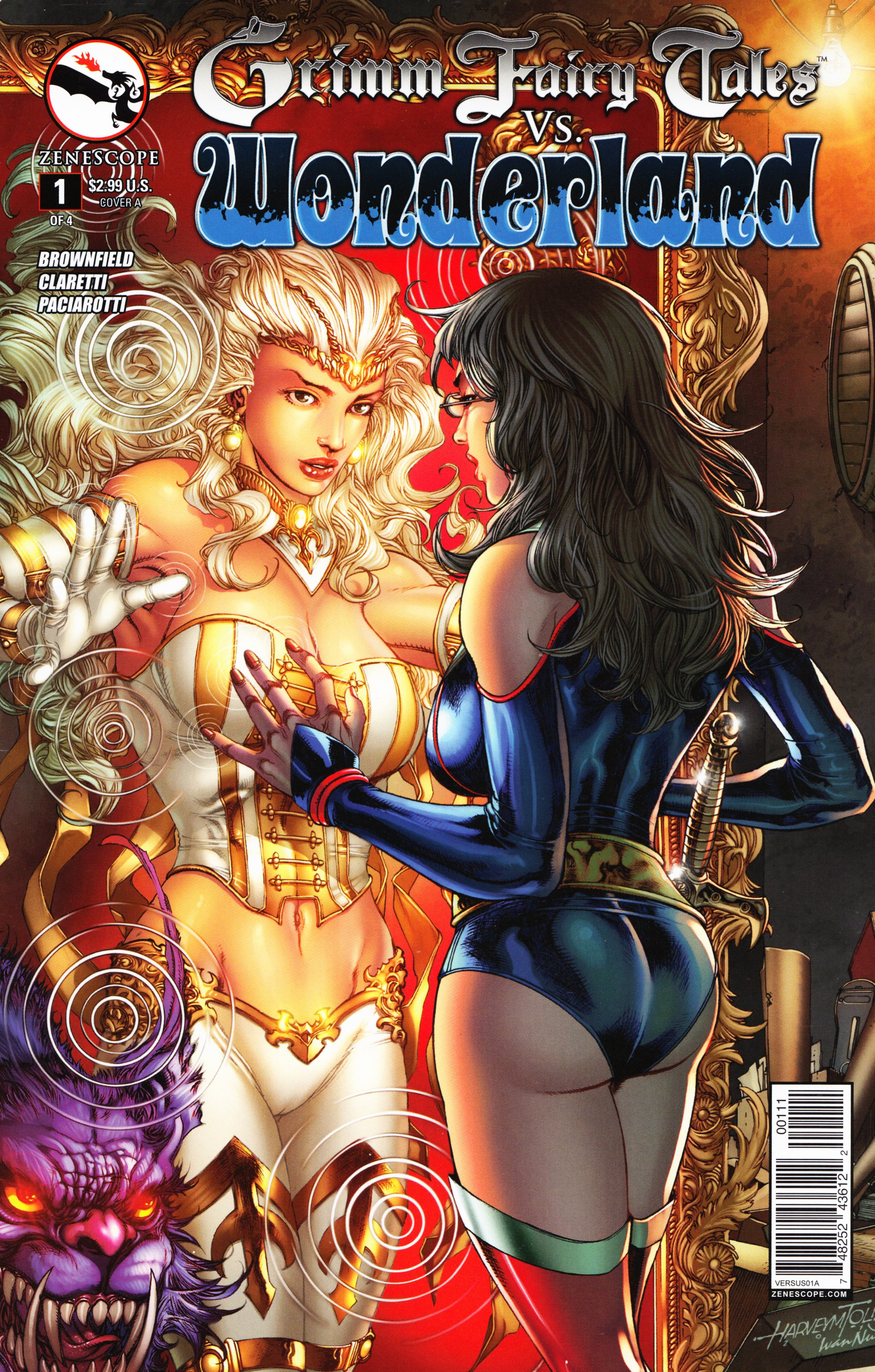 Read online Grimm Fairy Tales vs. Wonderland comic -  Issue #1 - 1