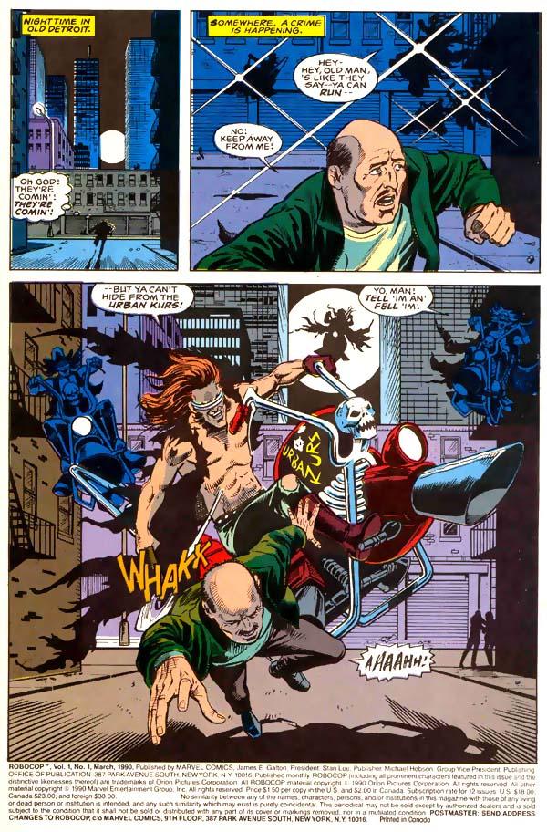 Read online Robocop (1990) comic -  Issue #1 - 2