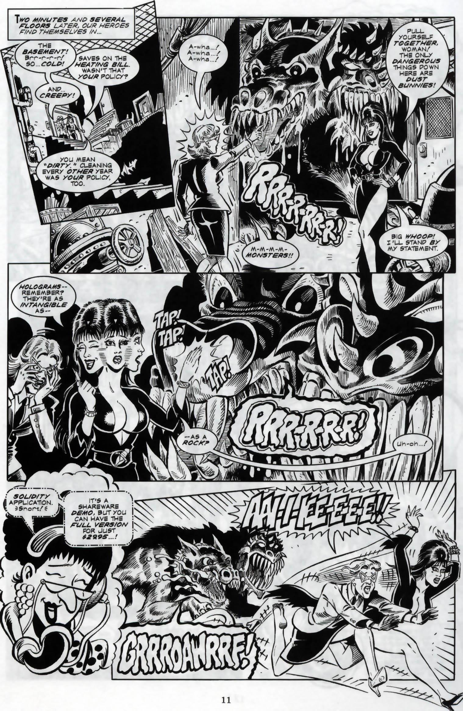 Read online Elvira, Mistress of the Dark comic -  Issue #119 - 13
