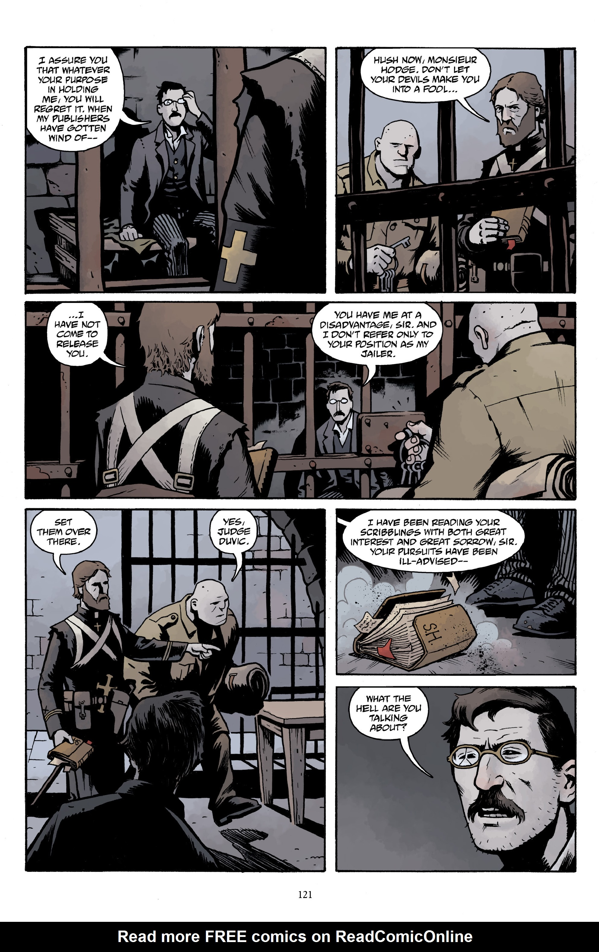 Read online Baltimore Volume 3: A Passing Stranger and Other Stories comic -  Issue # Full - 123