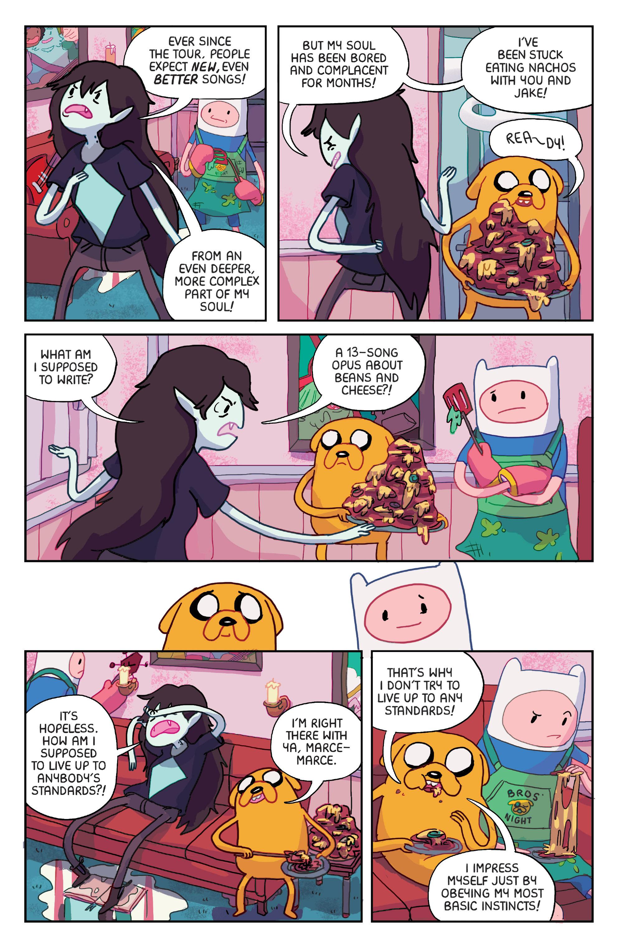 Read online Adventure Time: Marceline Gone Adrift comic -  Issue #1 - 6