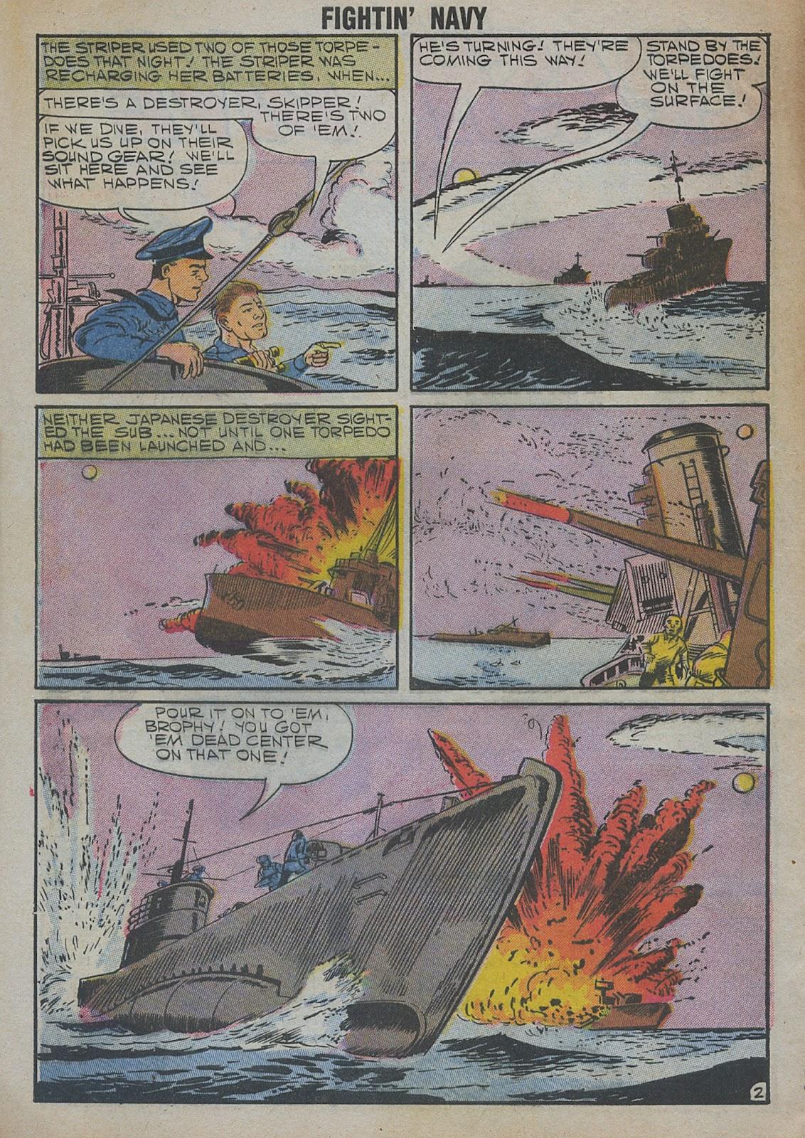 Read online Fightin' Navy comic -  Issue #82 - 4