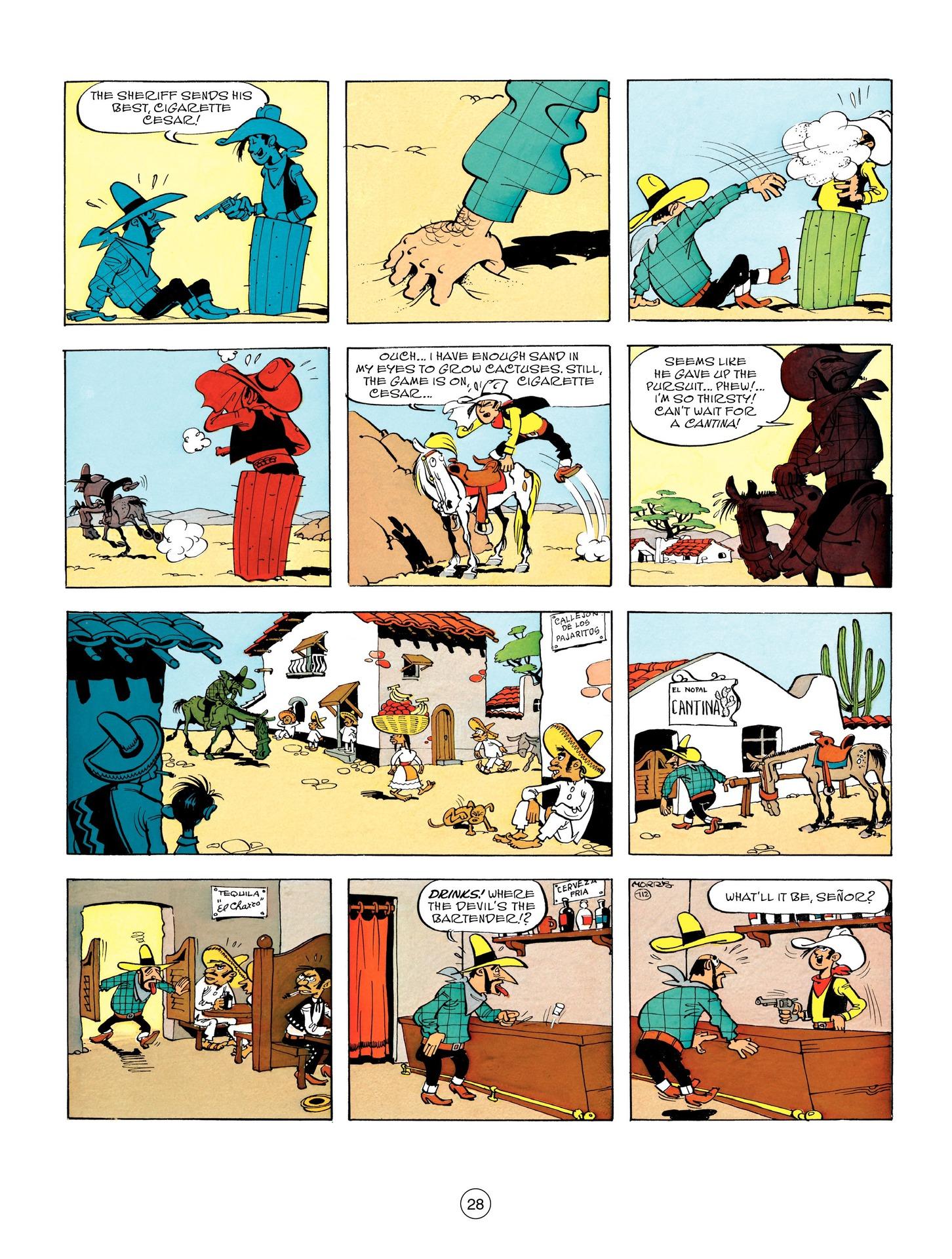 Read online A Lucky Luke Adventure comic -  Issue #55 - 28