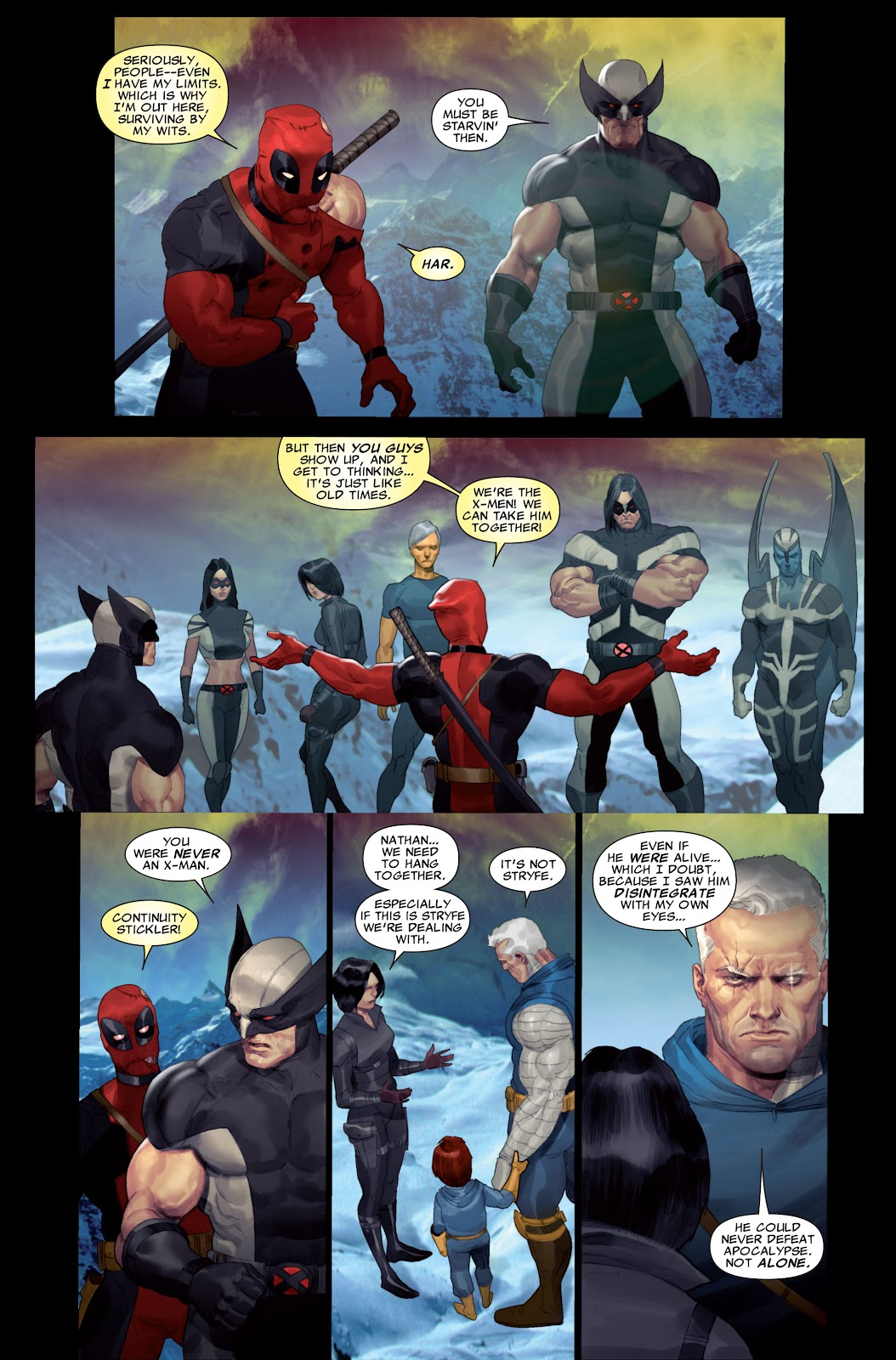 Read online X-Force/Cable: Messiah War comic -  Issue # _TPB (Part 2) - 5
