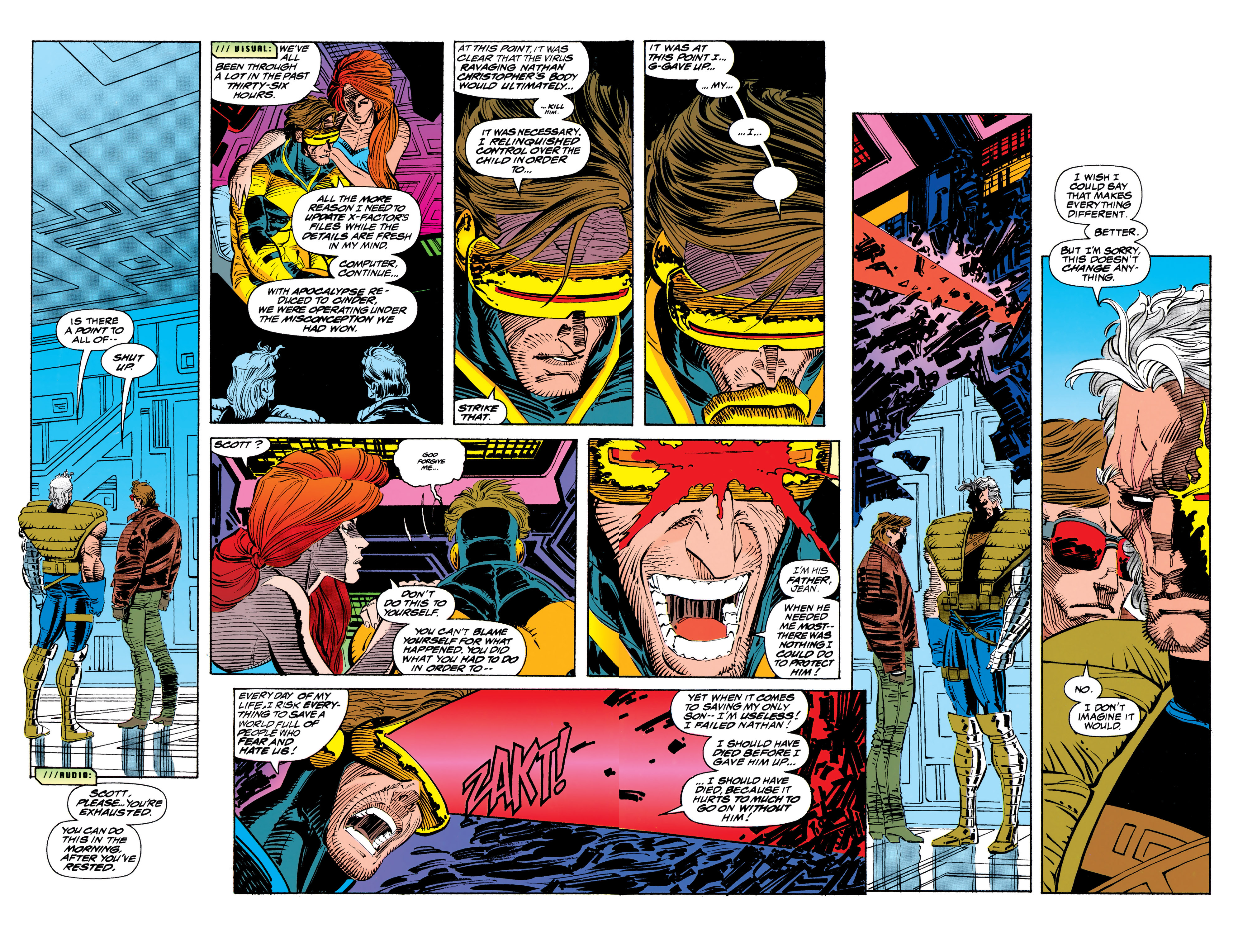 Read online Uncanny X-Men (1963) comic -  Issue #310 - 11