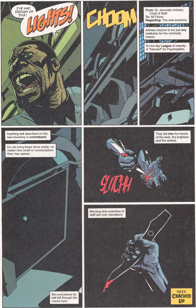 Read online Arkham Asylum: Living Hell comic -  Issue #2 - 23