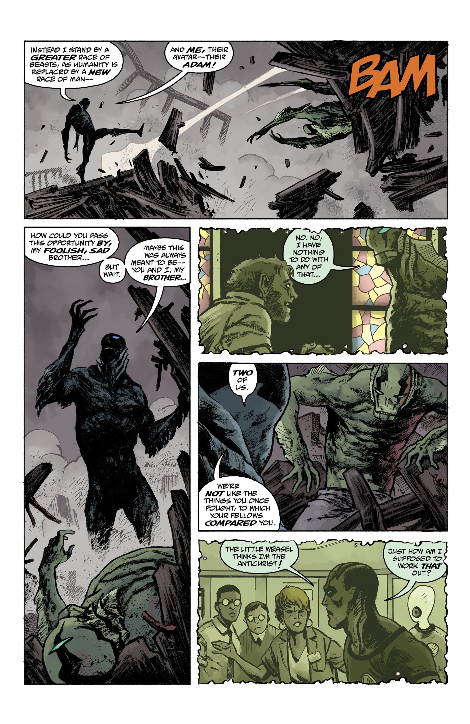 Read online Abe Sapien comic -  Issue #36 - 14