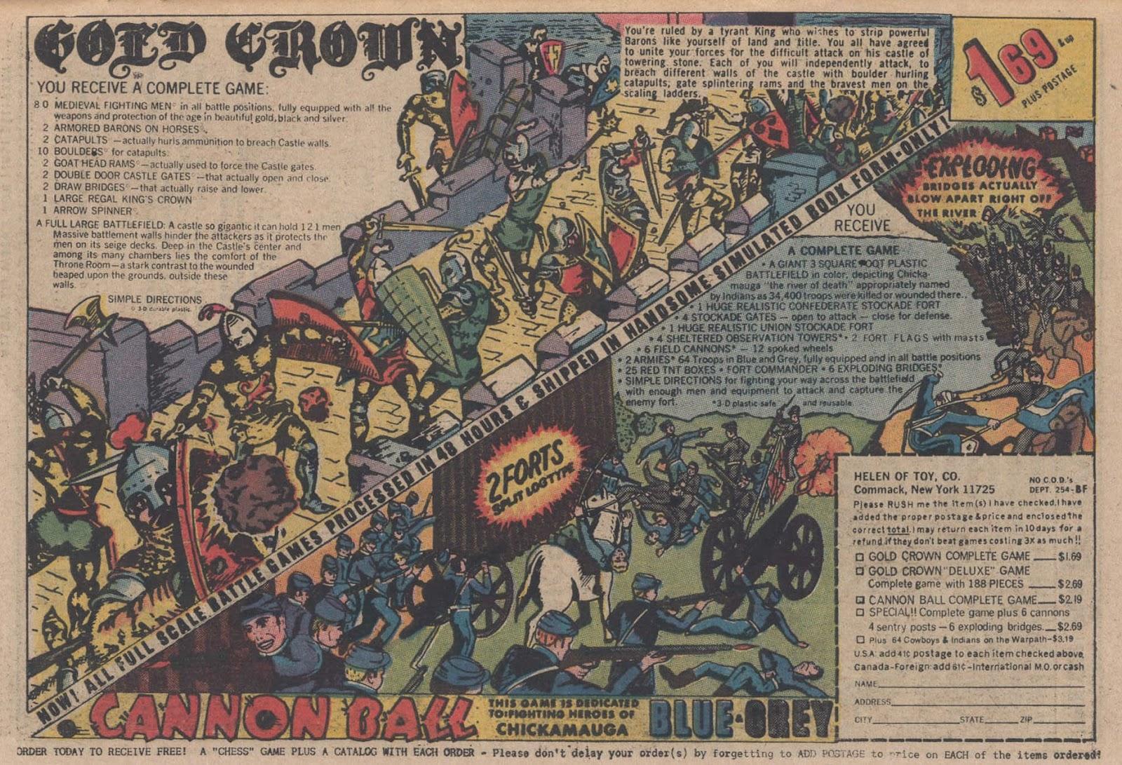 Read online Strange Sports Stories (1973) comic -  Issue #5 - 22