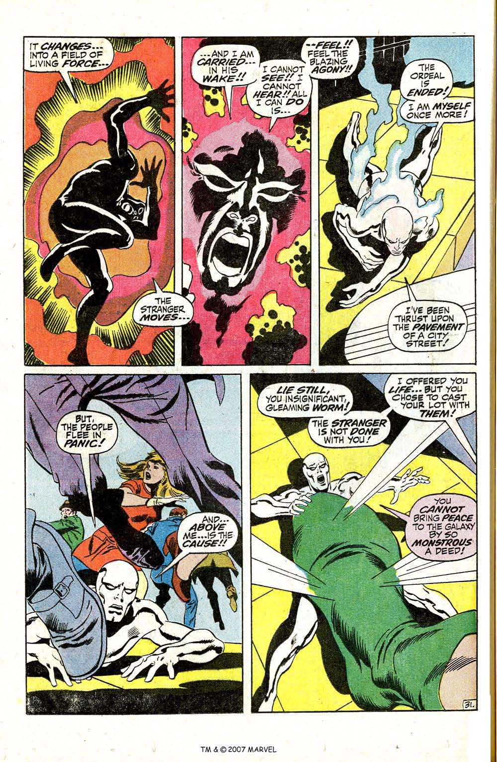 Read online Silver Surfer (1968) comic -  Issue #5 - 38