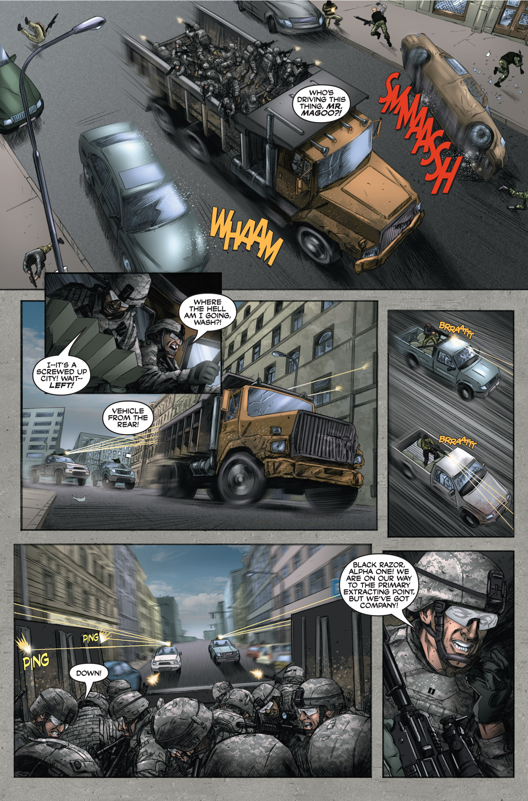 Read online America's Army comic -  Issue #6 - 32