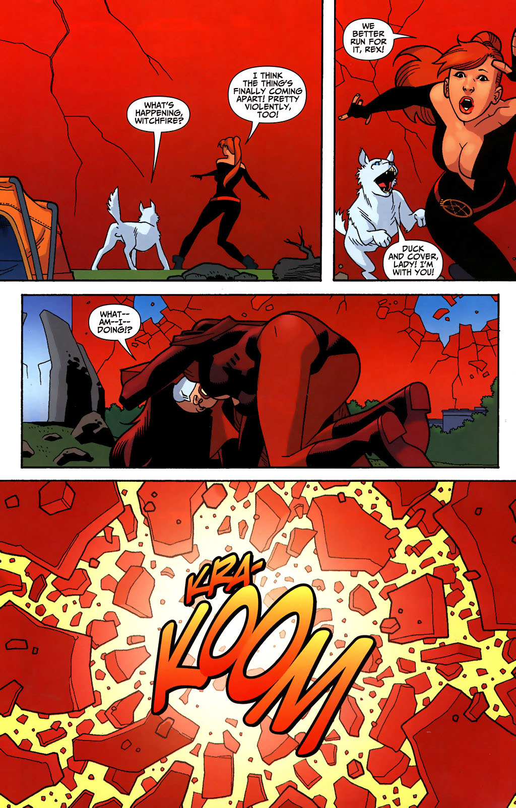 Read online Shadowpact comic -  Issue #3 - 21
