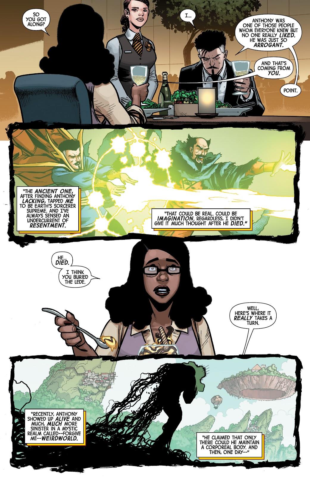 Read online Dr. Strange comic -  Issue #4 - 10