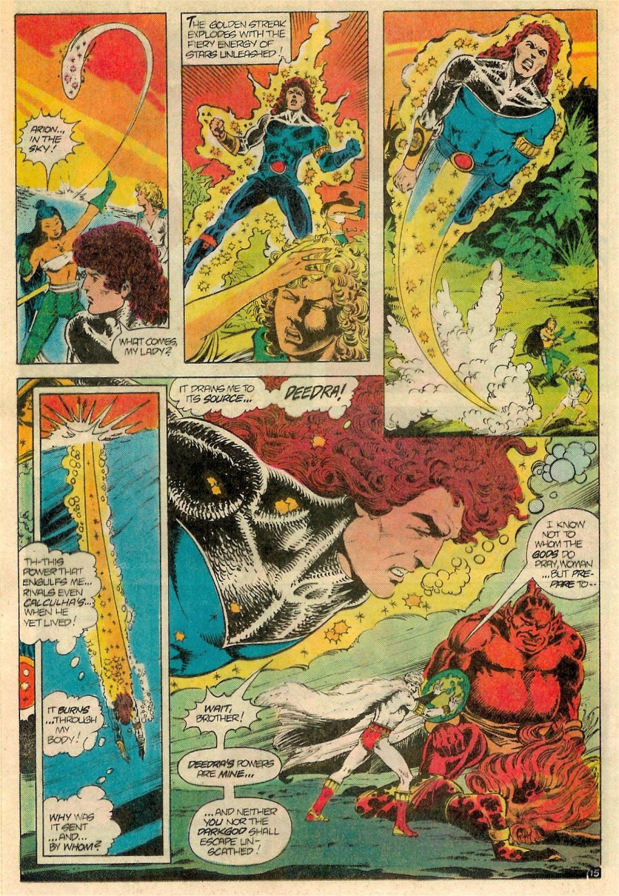 Read online Arion, Lord of Atlantis comic -  Issue #19 - 16