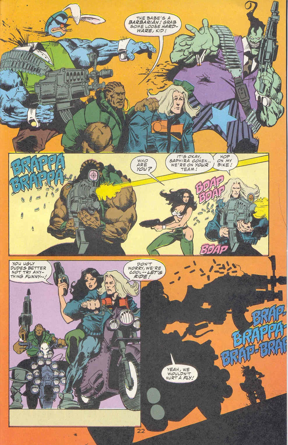 Read online Kamandi: At Earth's End comic -  Issue #2 - 23