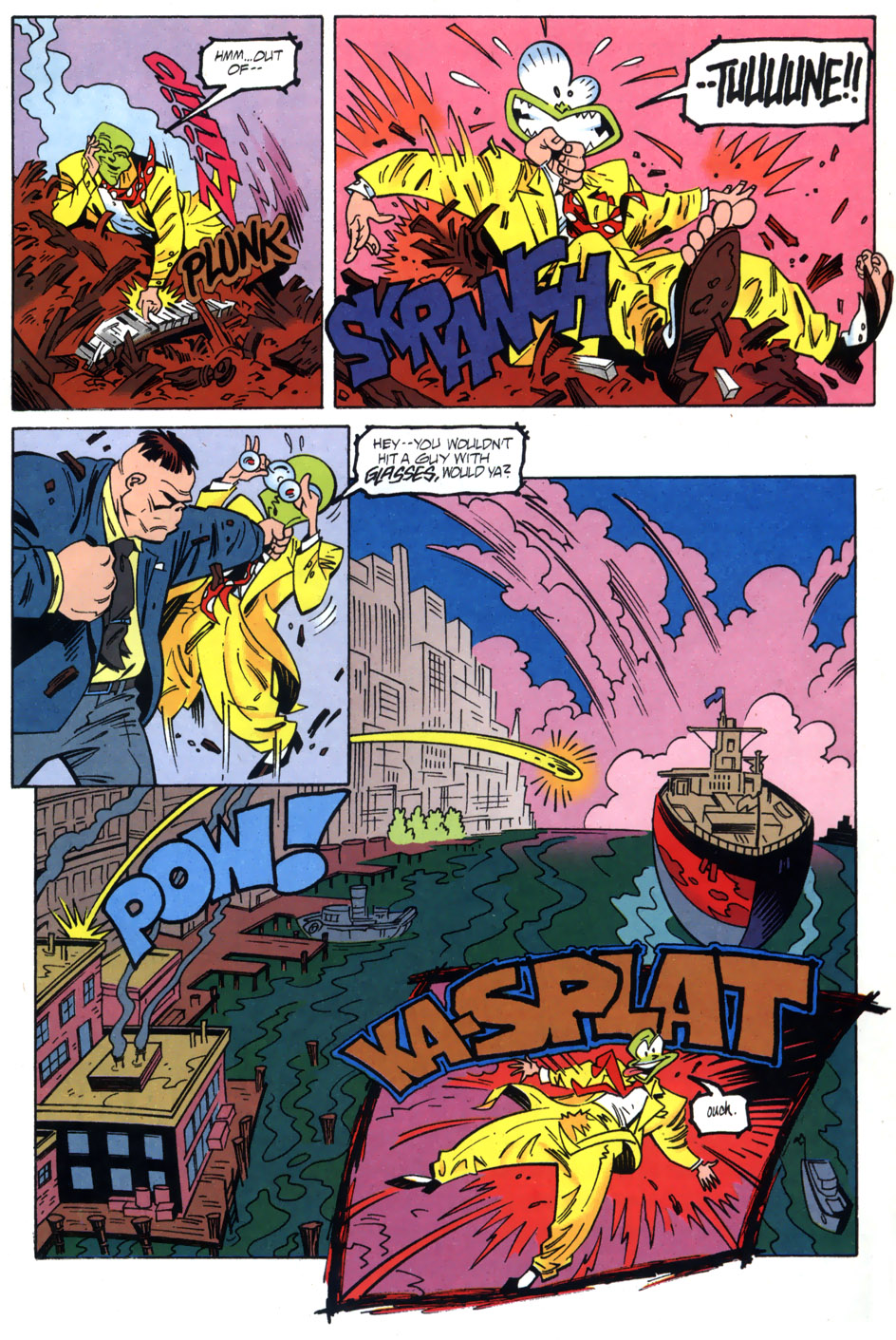 Read online Adventures Of The Mask comic -  Issue #2 - 9